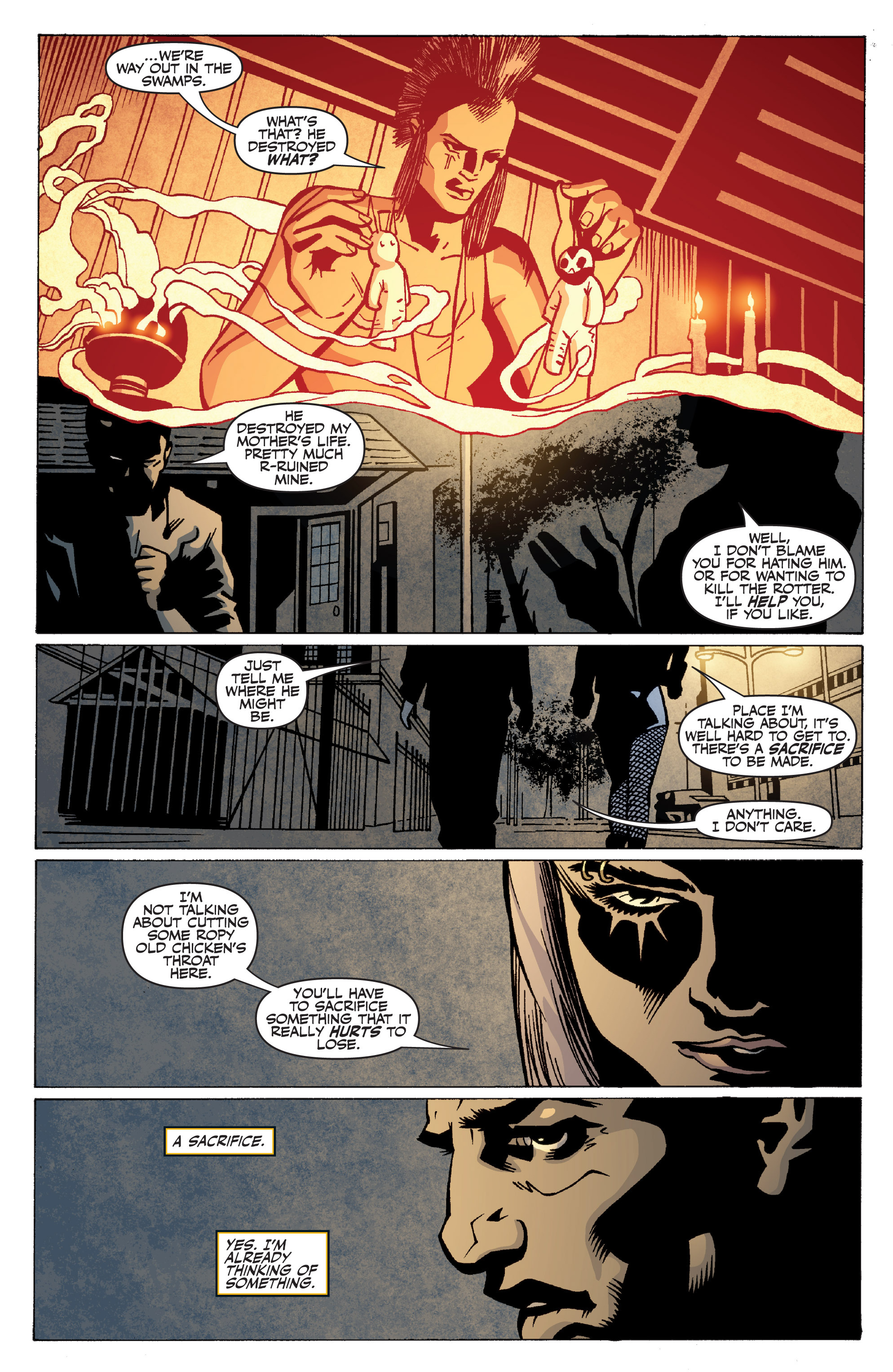 Read online Shadowman: End Times comic -  Issue #2 - 12