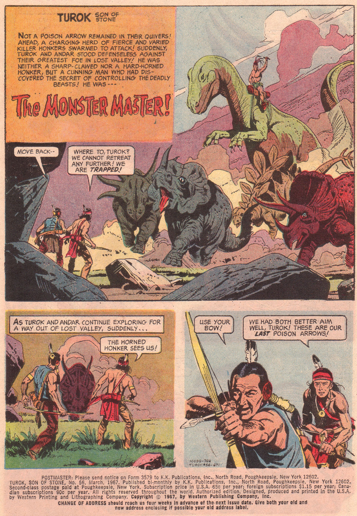 Read online Turok, Son of Stone comic -  Issue #56 - 3
