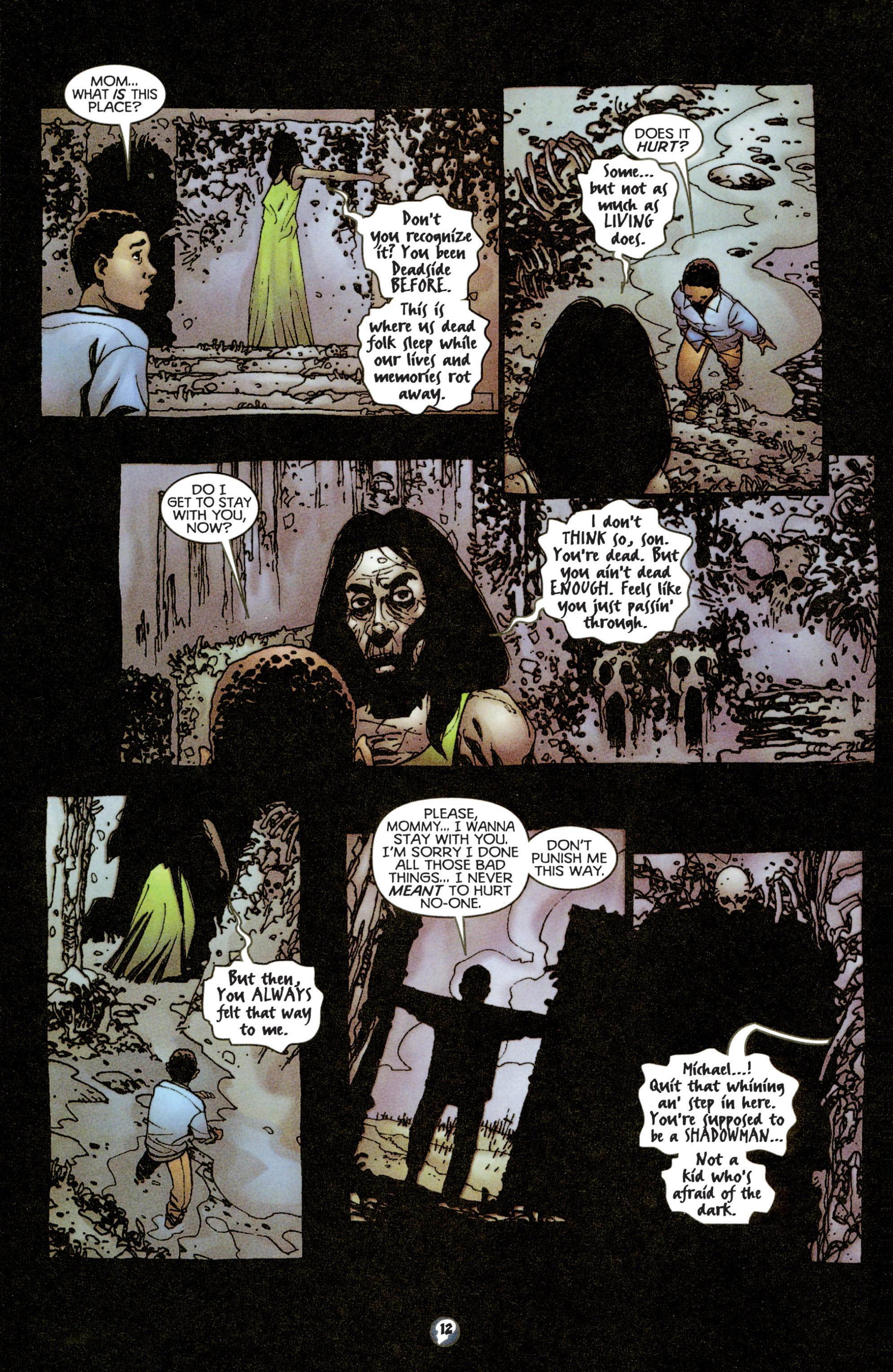 Read online Shadowman (1997) comic -  Issue #15 - 10