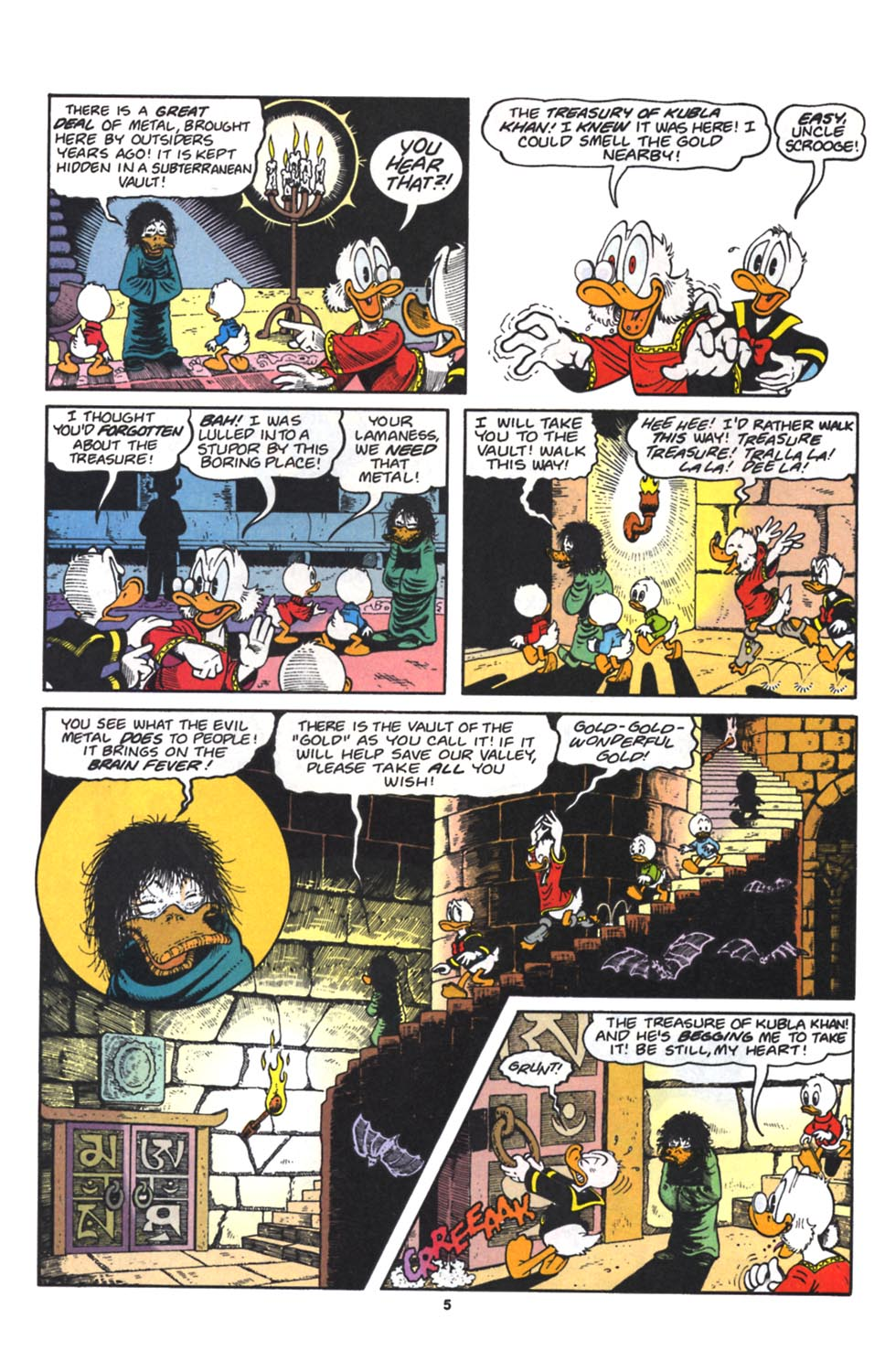 Read online Uncle Scrooge (1953) comic -  Issue #262 - 6