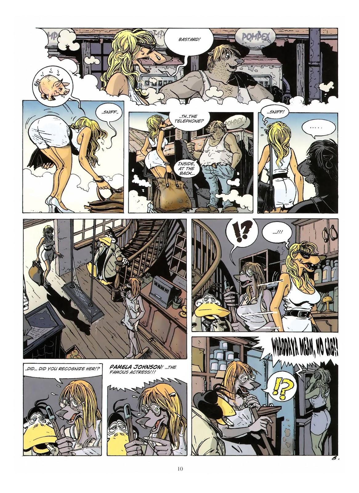 Une enquête de l'inspecteur Canardo issue 10 - Page 11