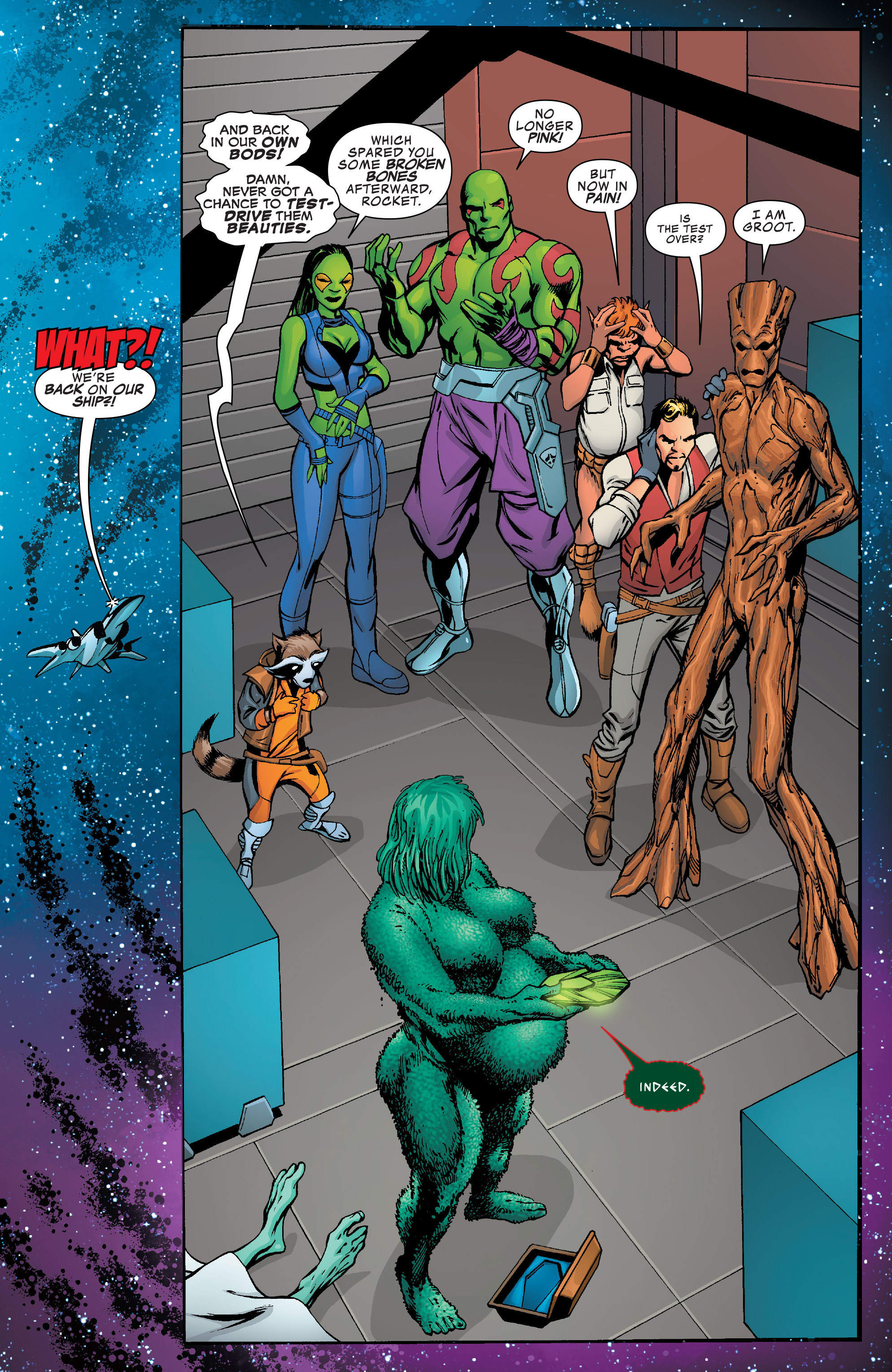 Read online Guardians of the Galaxy: Mother Entropy comic -  Issue #3 - 12
