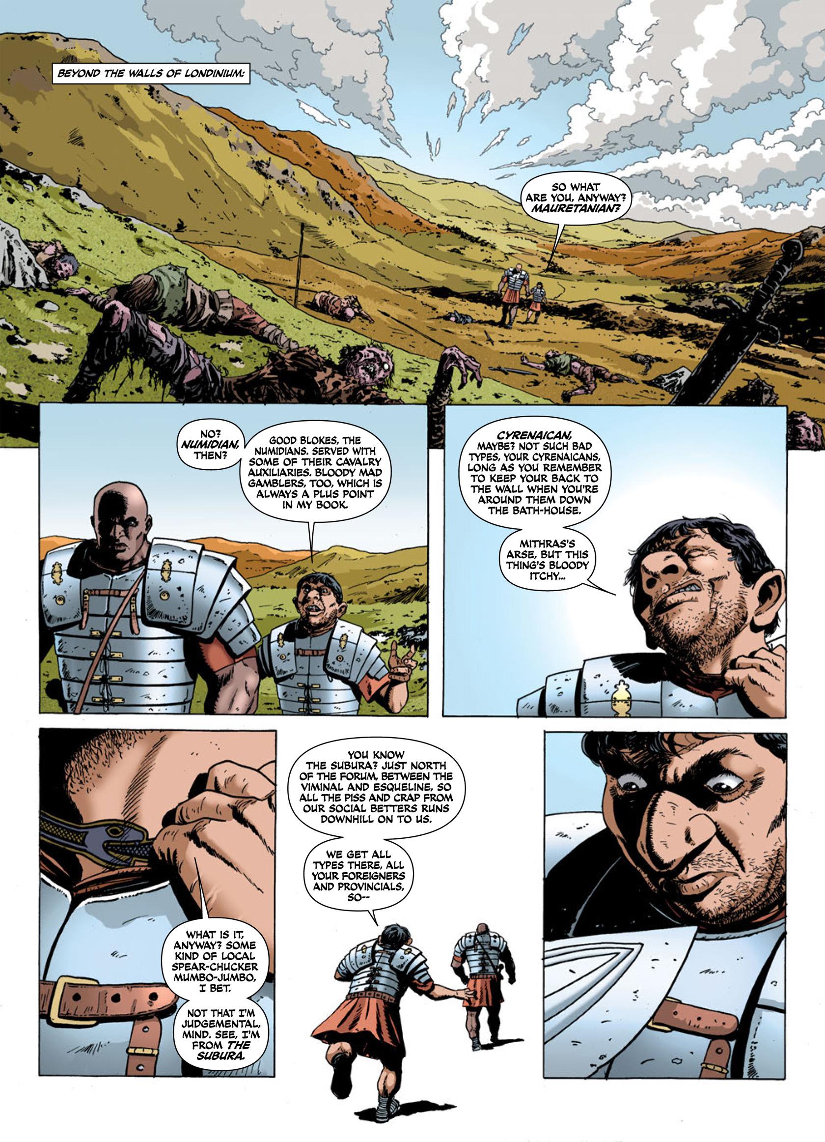 Read online Aquila comic -  Issue #1 - 24