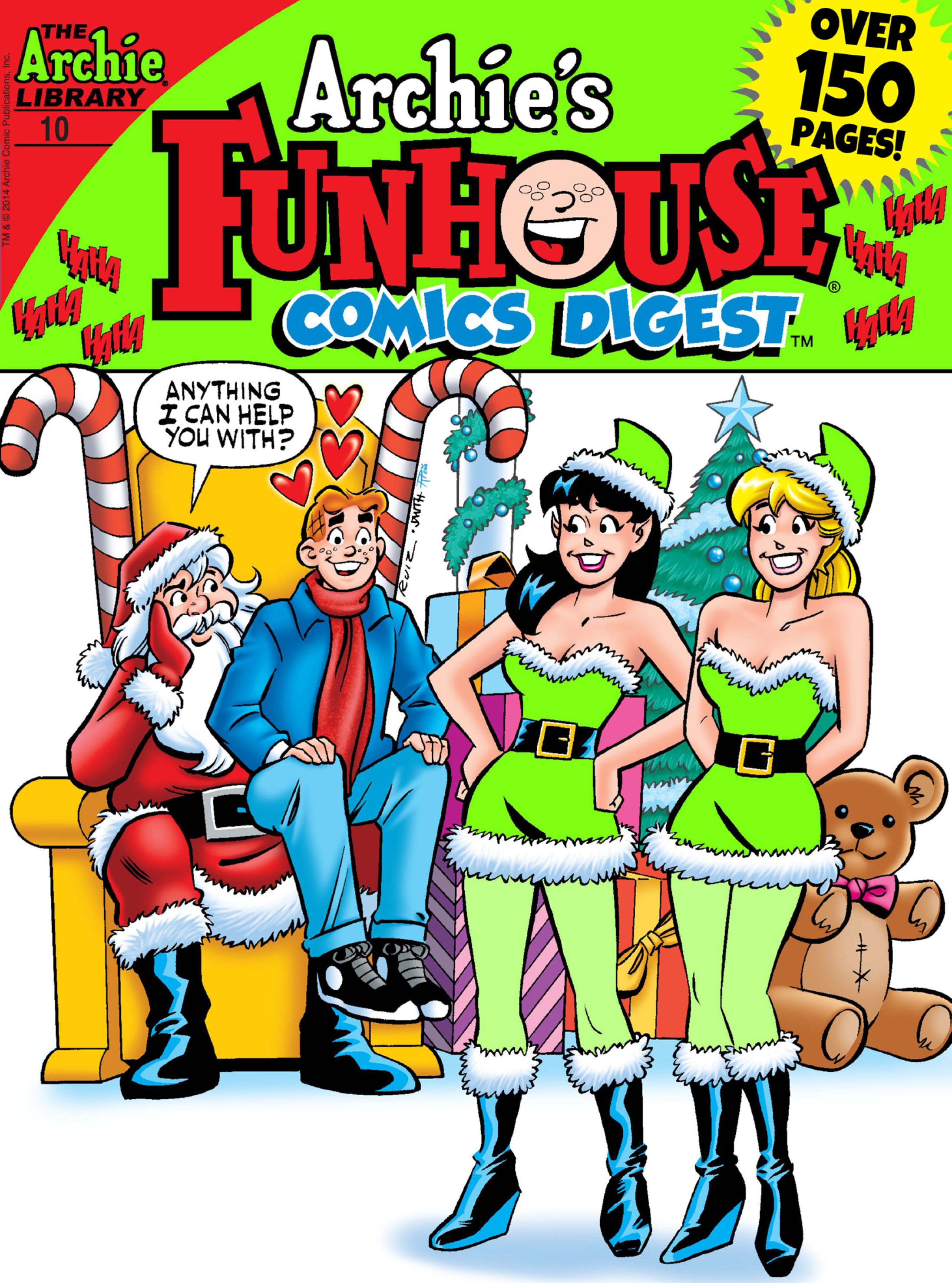 Read online Archie's Funhouse Double Digest comic -  Issue #10 - 1