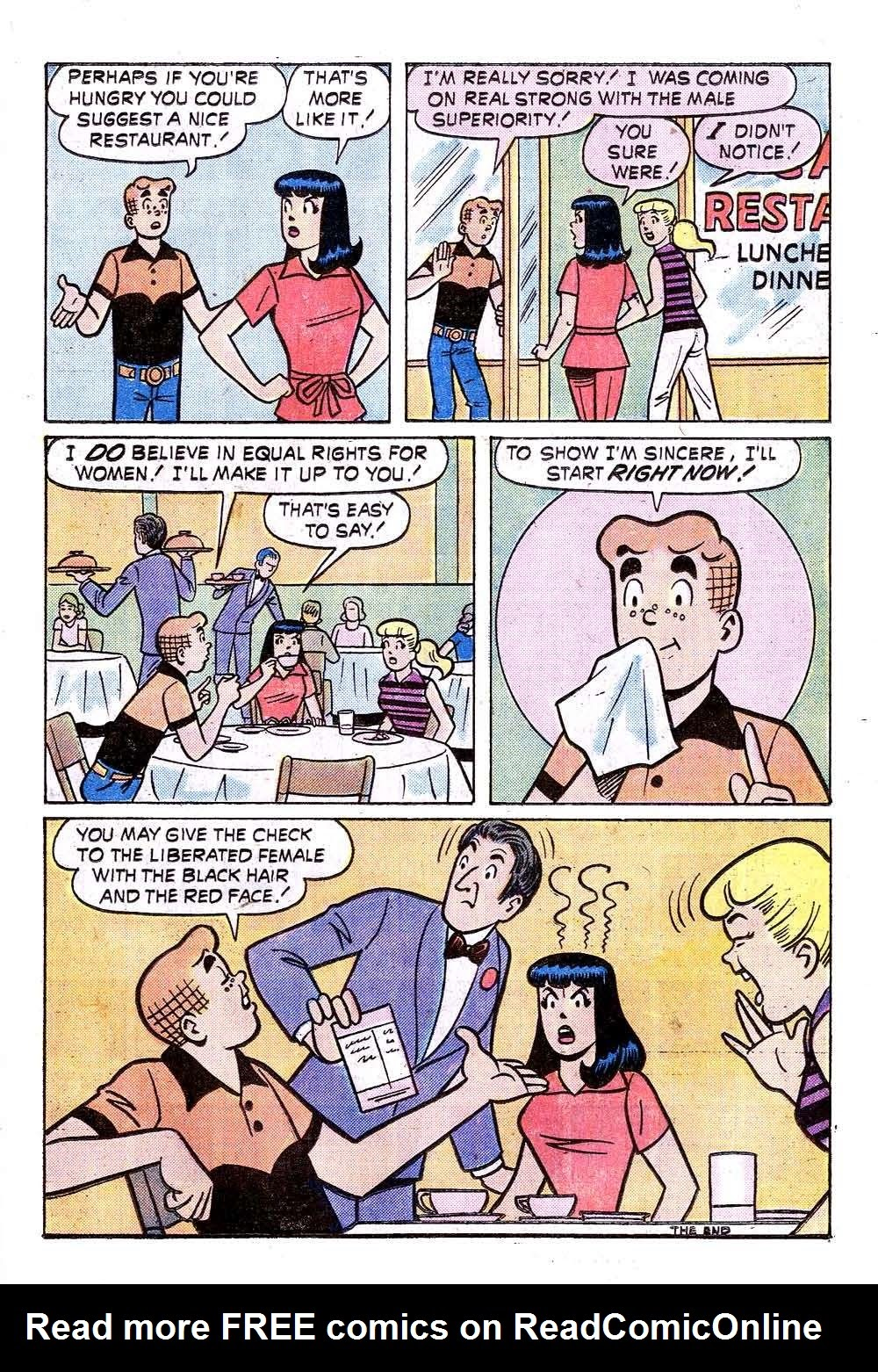 Read online Archie (1960) comic -  Issue #240 - 17