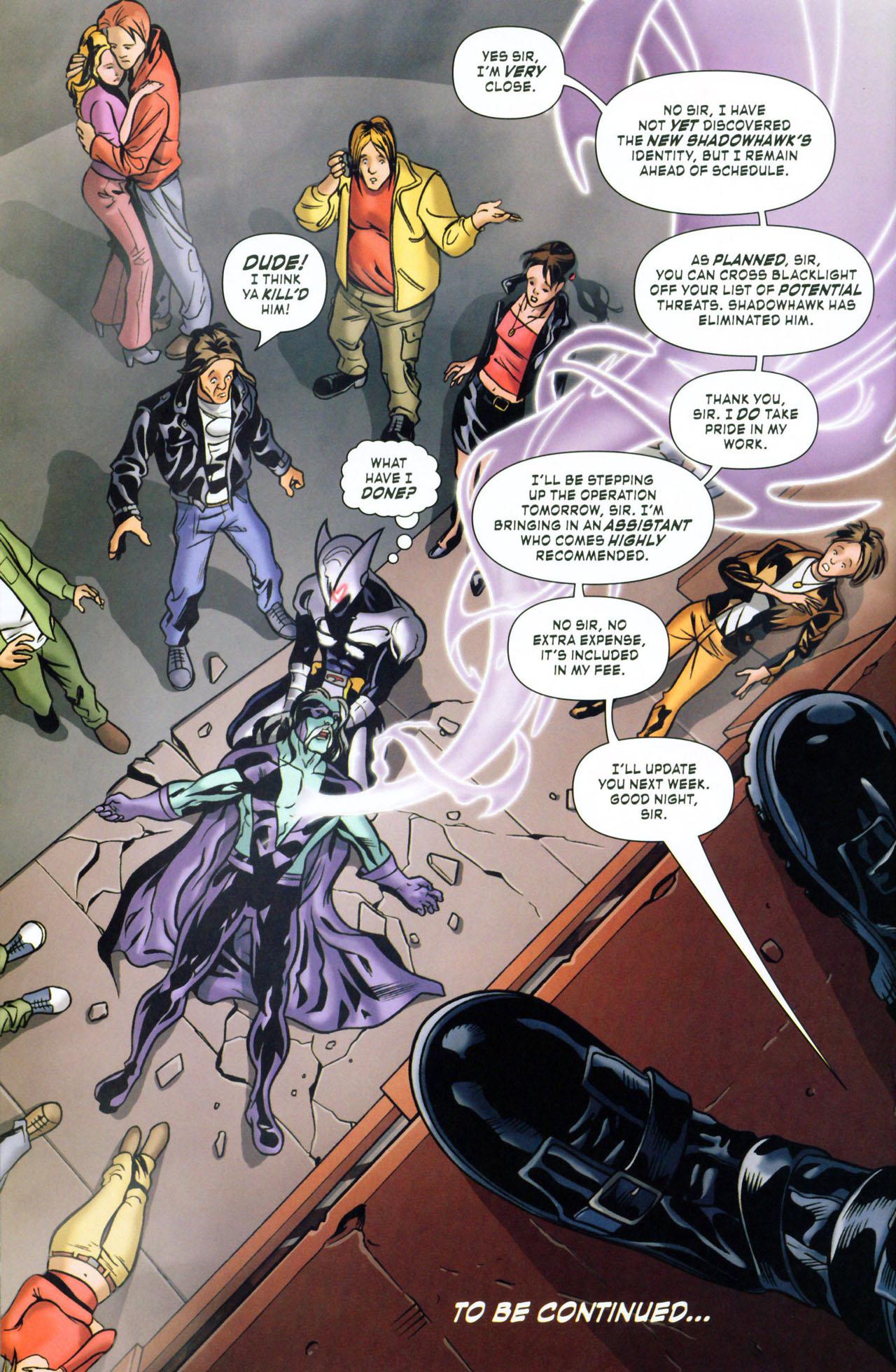 Read online ShadowHawk (2005) comic -  Issue #1 - 24