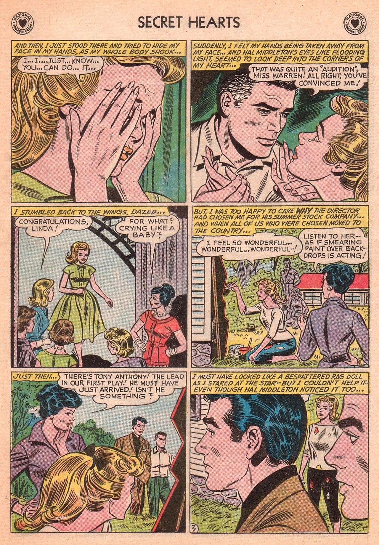 Read online Secret Hearts comic -  Issue #77 - 29