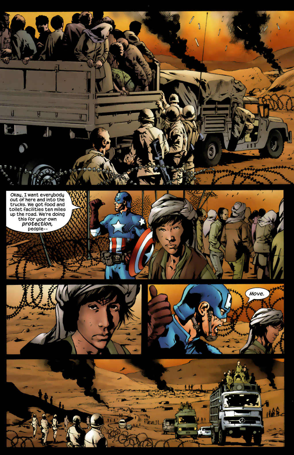 Read online Ultimates 2 comic -  Issue #7 - 11