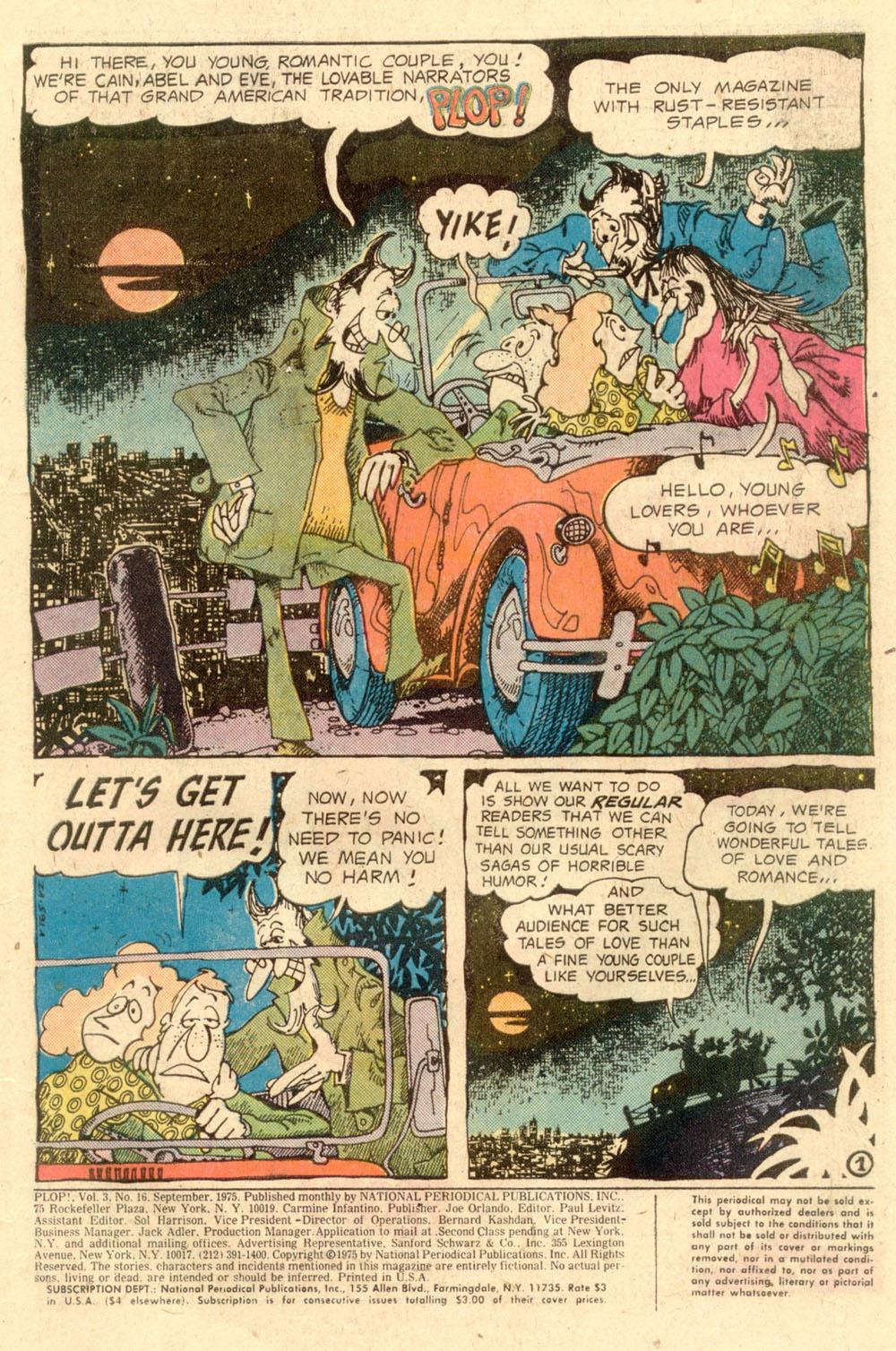 Read online Plop! comic -  Issue #16 - 3