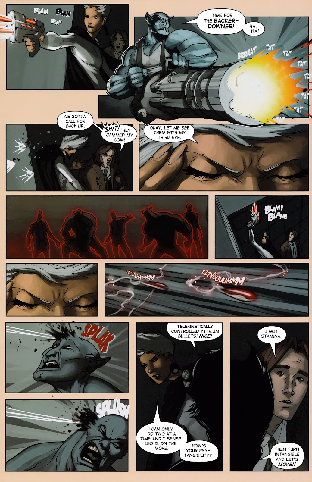 Read online Vescell comic -  Issue #3 - 23