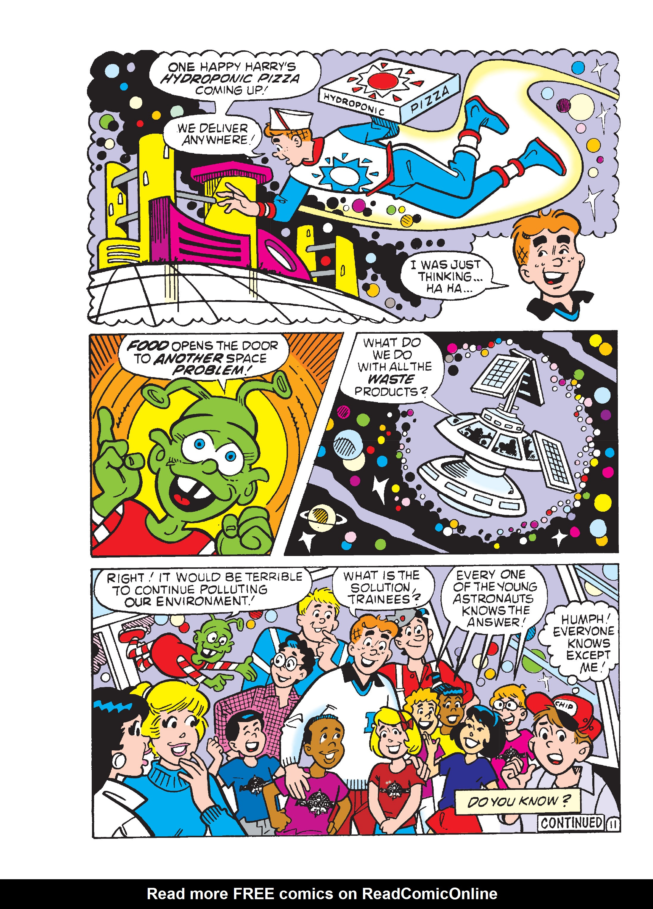 Read online Archie's Funhouse Double Digest comic -  Issue #13 - 104