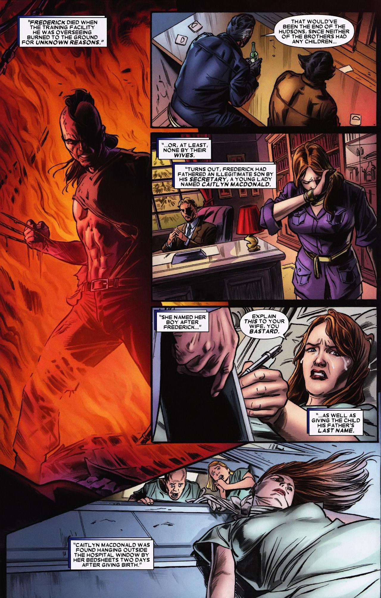 Read online Wolverine: Origins comic -  Issue #33 - 12