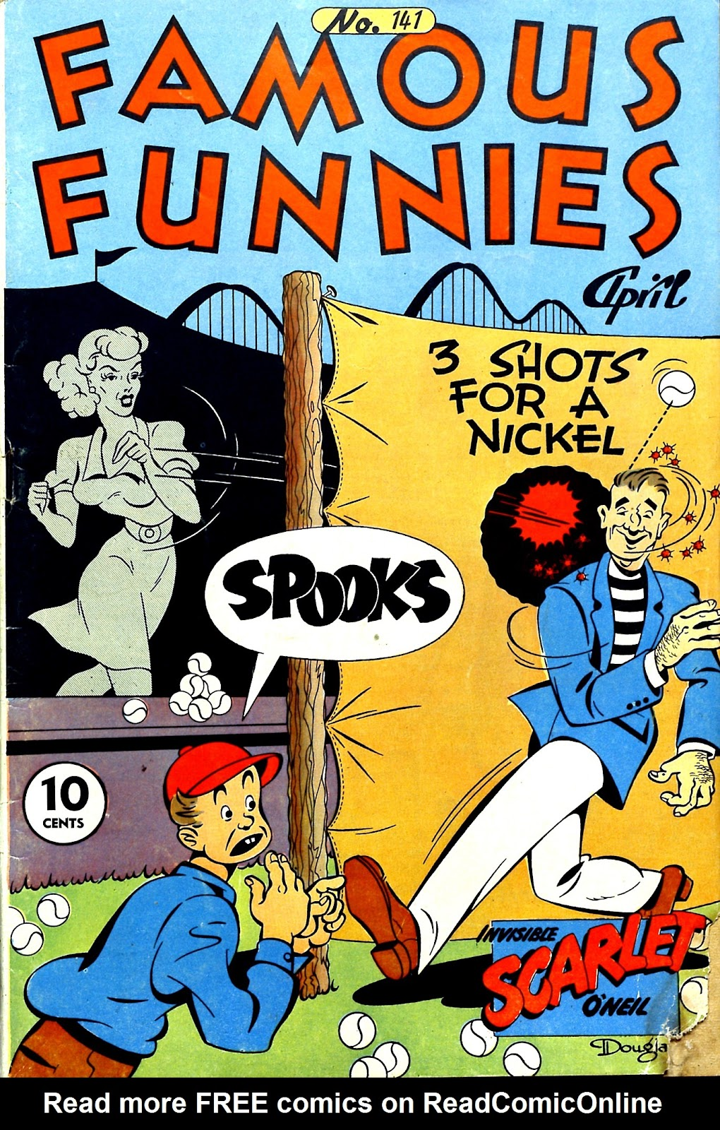 Read online Famous Funnies comic -  Issue #141 - 1