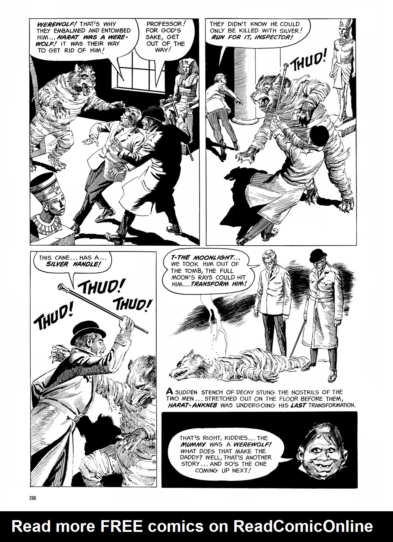 Read online Eerie Archives comic -  Issue # TPB 1 - 207
