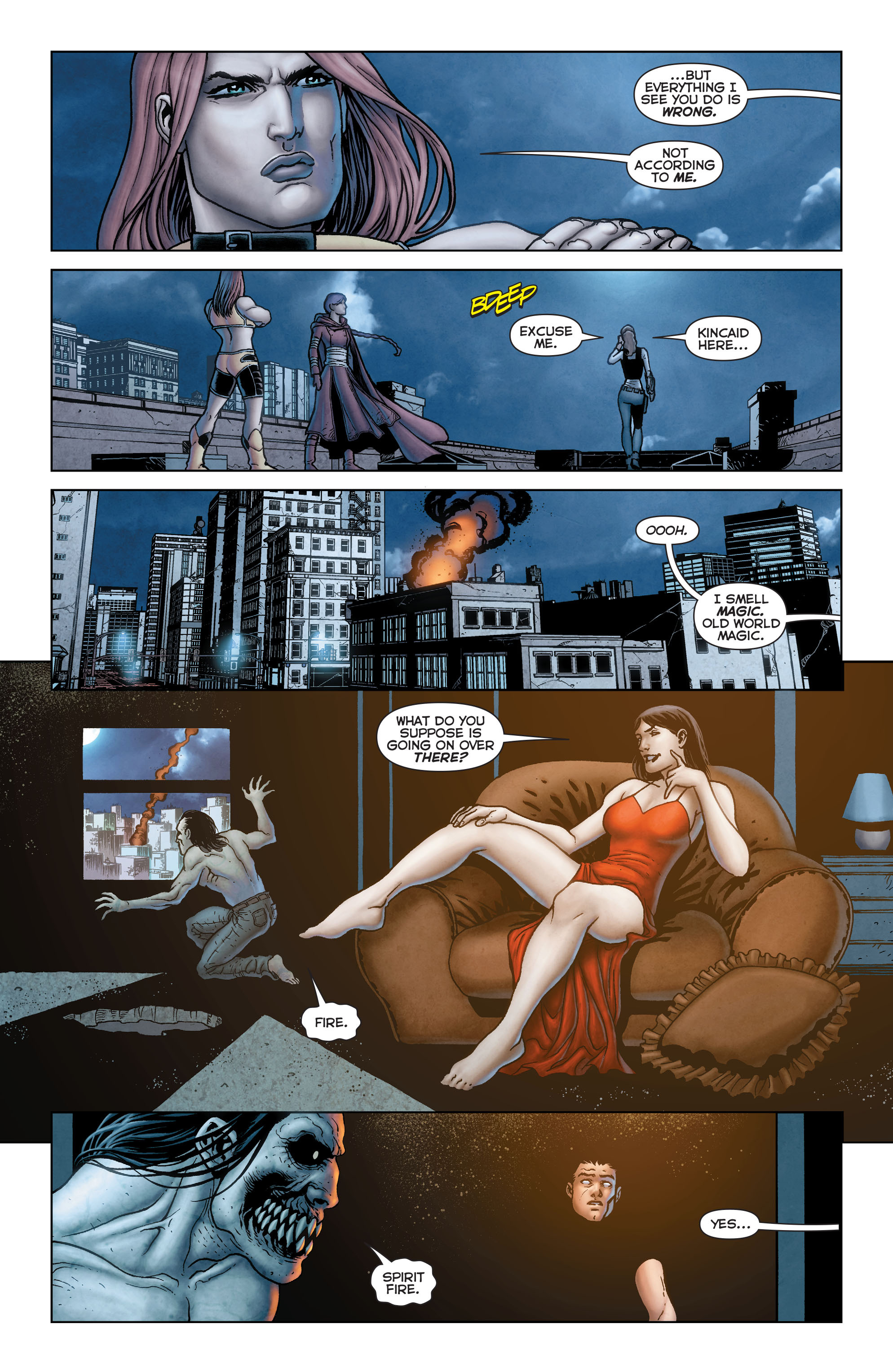 Read online Trinity of Sin: Pandora comic -  Issue #13 - 18