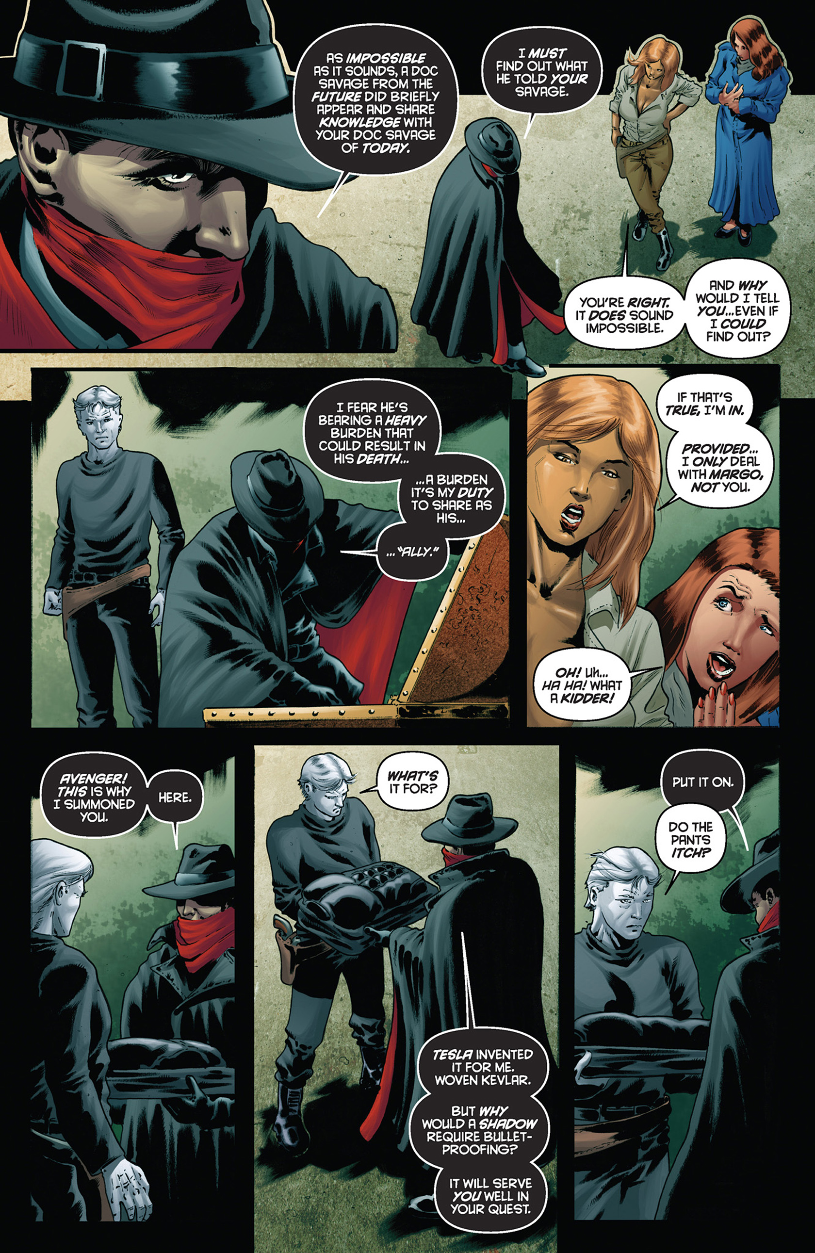 Read online Justice, Inc. comic -  Issue #5 - 9