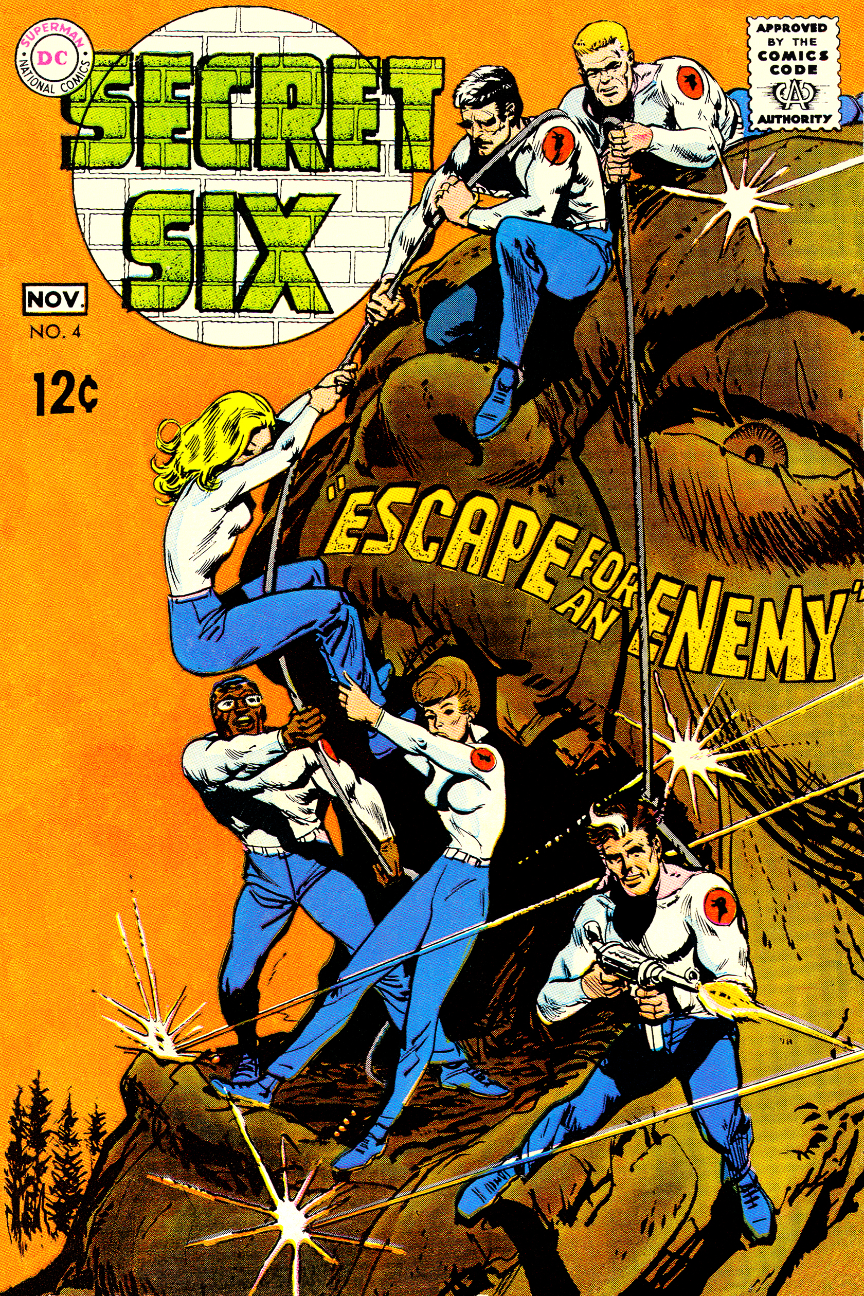 Read online Secret Six (1968) comic -  Issue #4 - 1