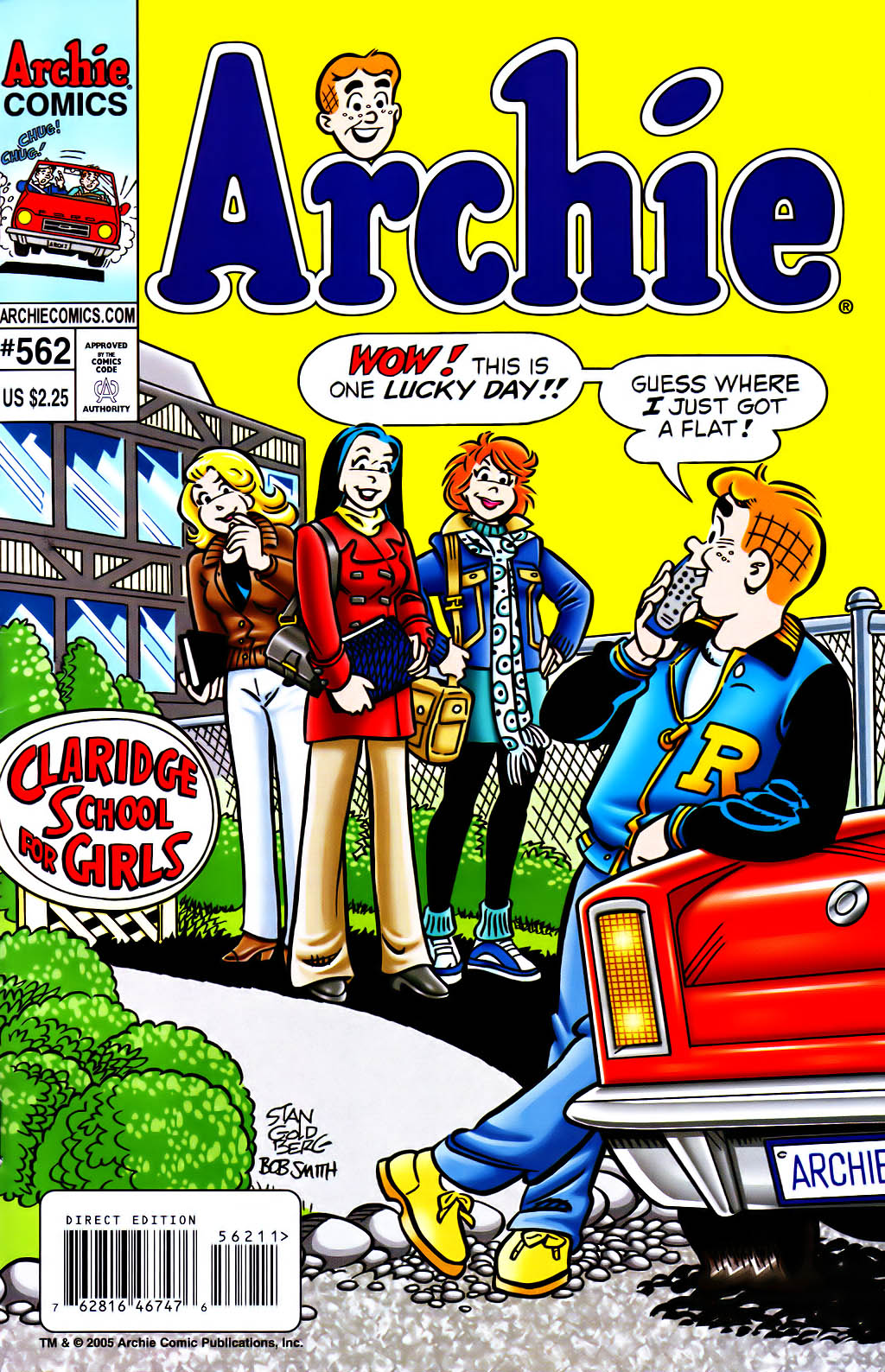 Read online Archie (1960) comic -  Issue #562 - 1