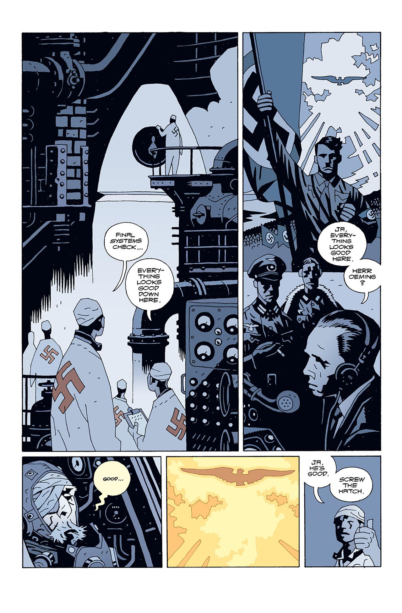 Read online Hellboy: Conqueror Worm comic -  Issue #1 - 6