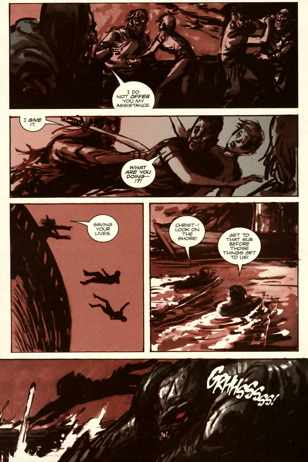Read online Sea of Red comic -  Issue #8 - 15