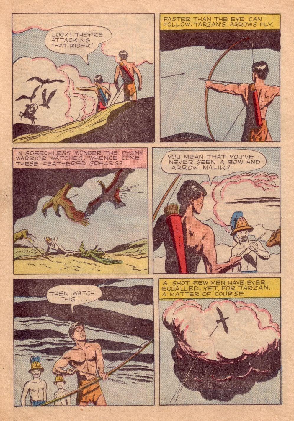 Tarzan (1948) issue 8 - Page 16