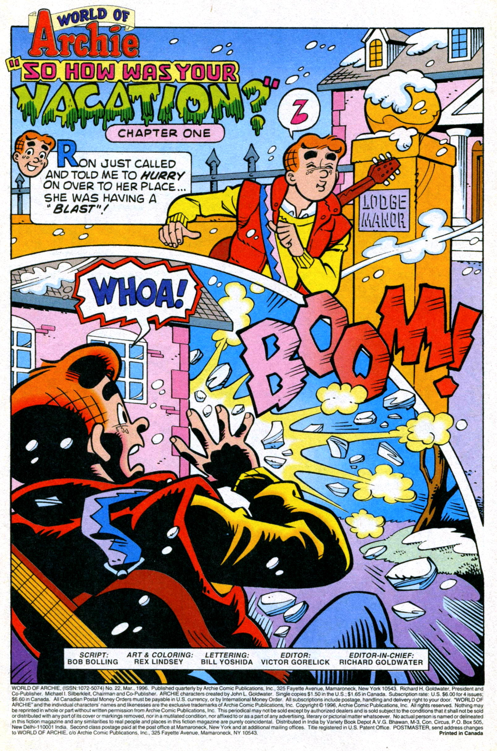 Read online World of Archie comic -  Issue #22 - 3