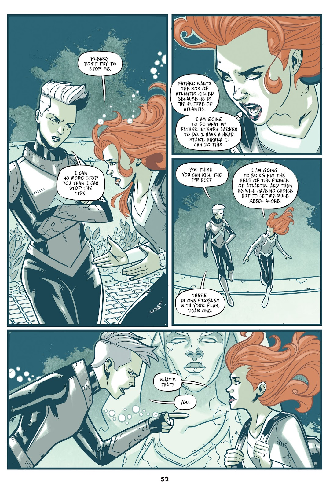 Read online Mera: Tidebreaker comic -  Issue # TPB (Part 1) - 52