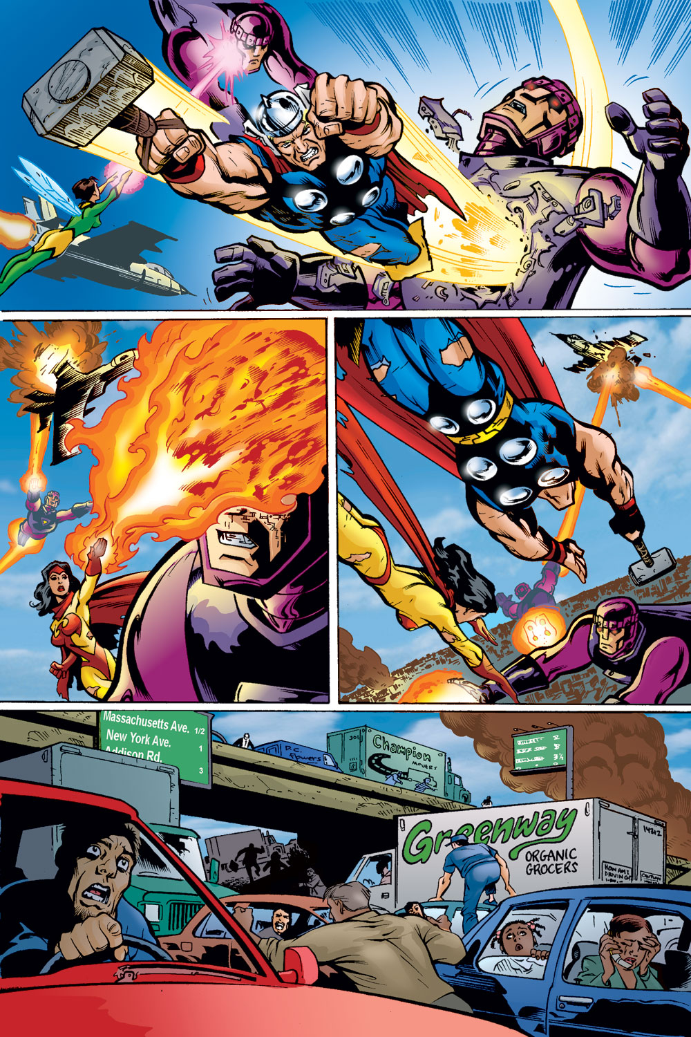 Read online Avengers (1998) comic -  Issue #49 - 11
