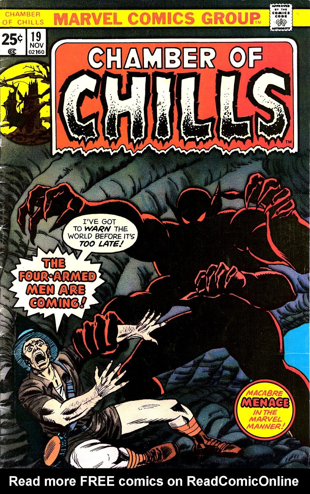 Chamber of Chills (1972) issue 19 - Page 1