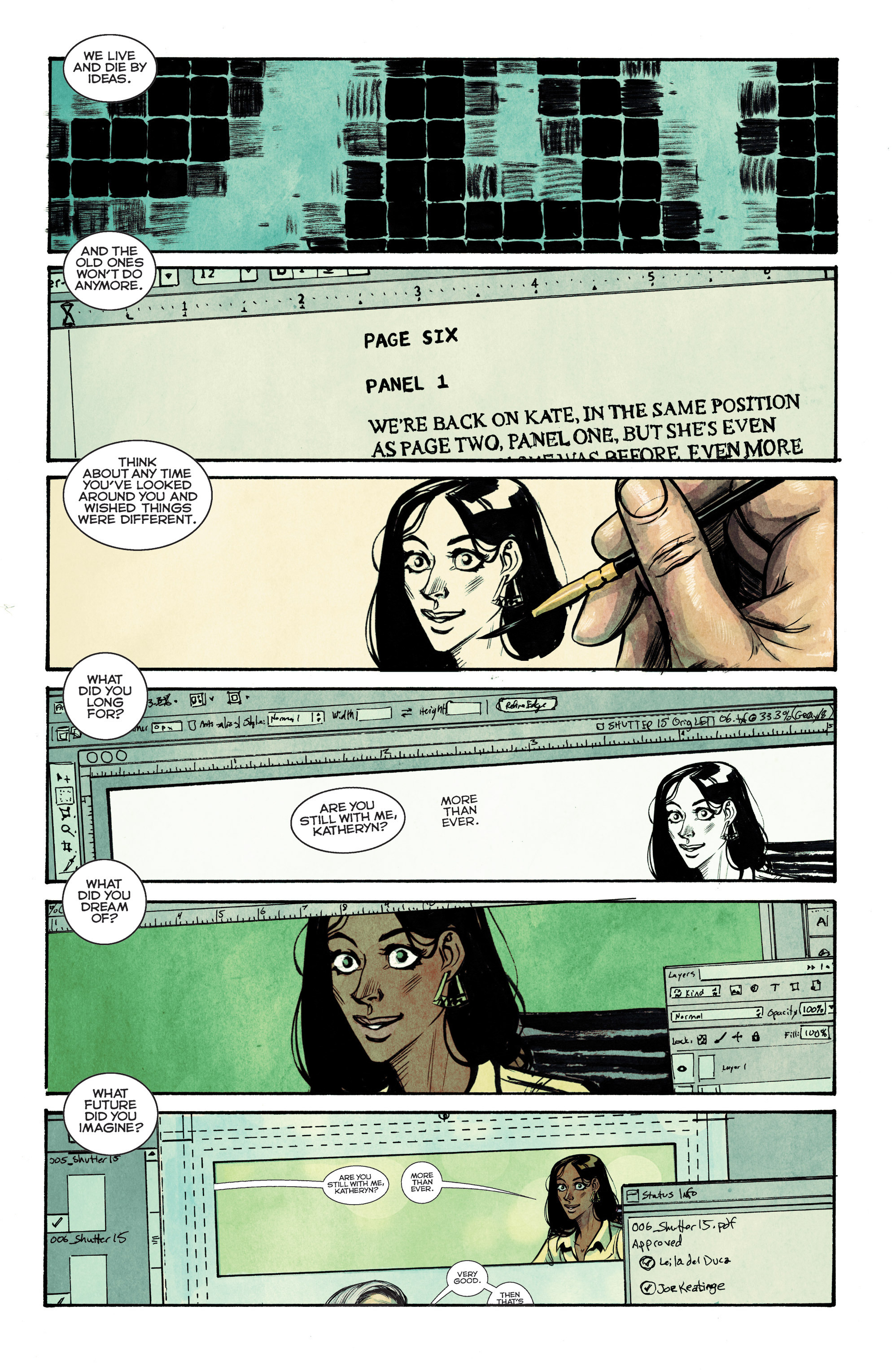 Read online Shutter comic -  Issue #15 - 5