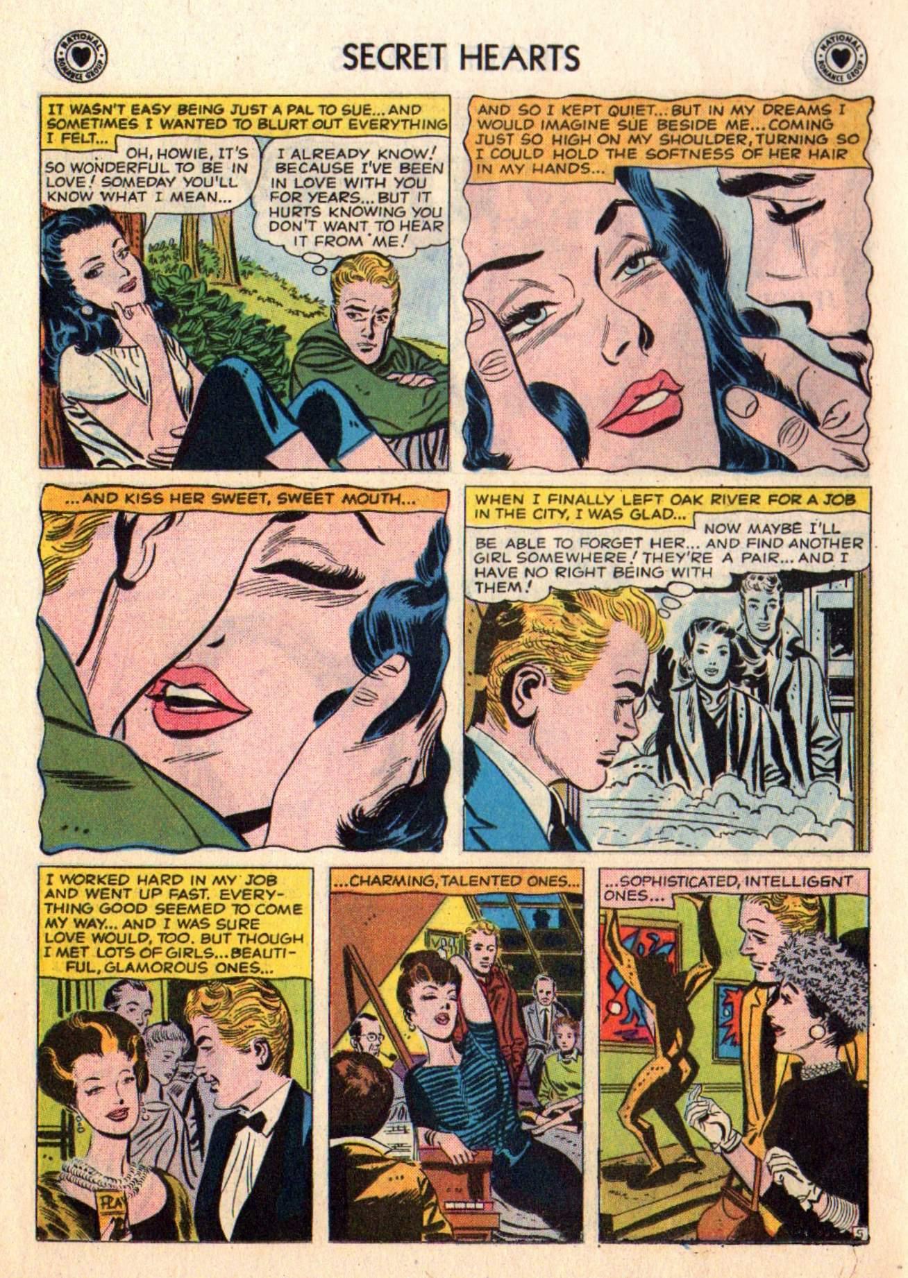 Read online Secret Hearts comic -  Issue #48 - 14