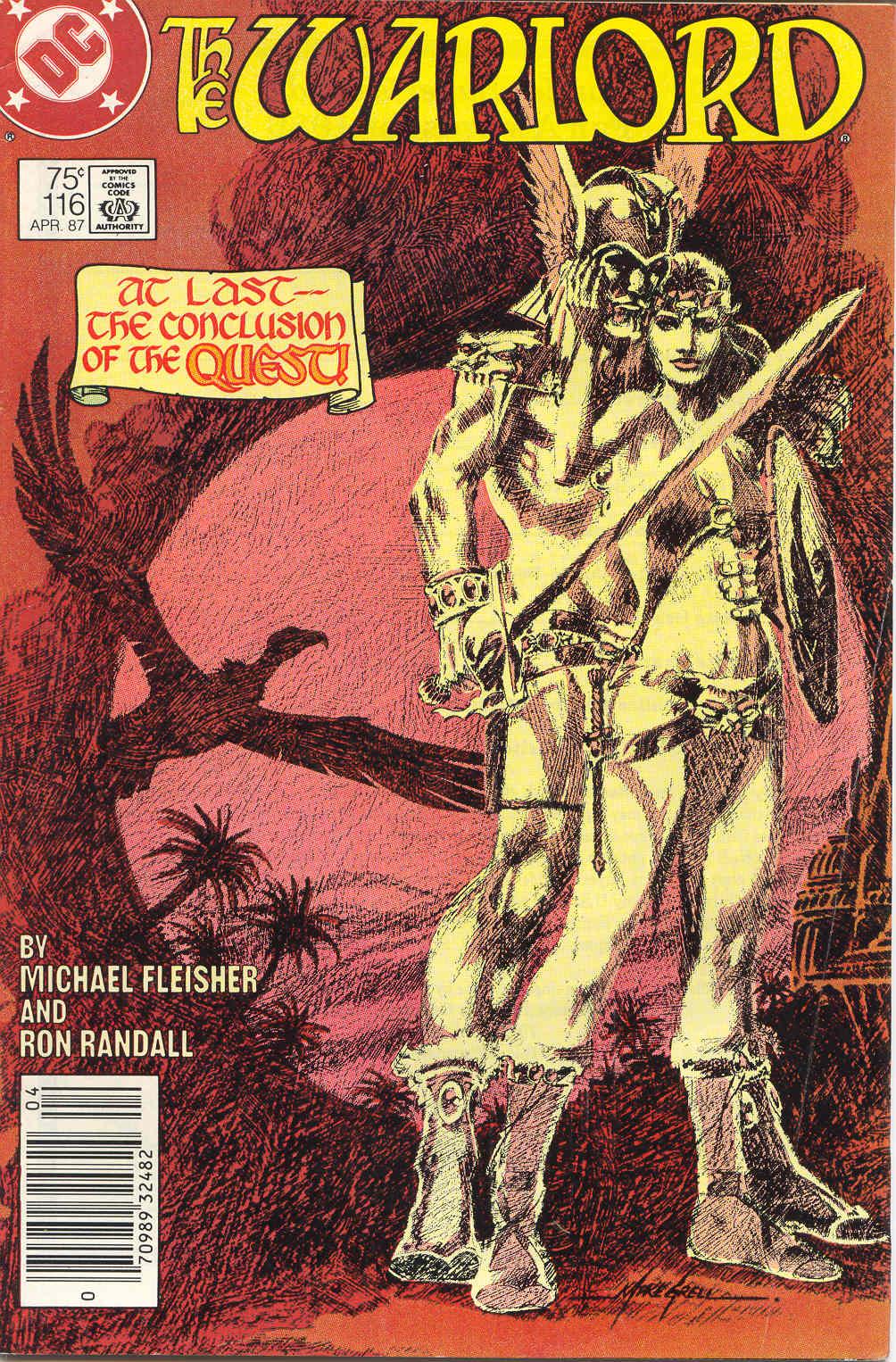 Warlord (1976) 116 Page 1