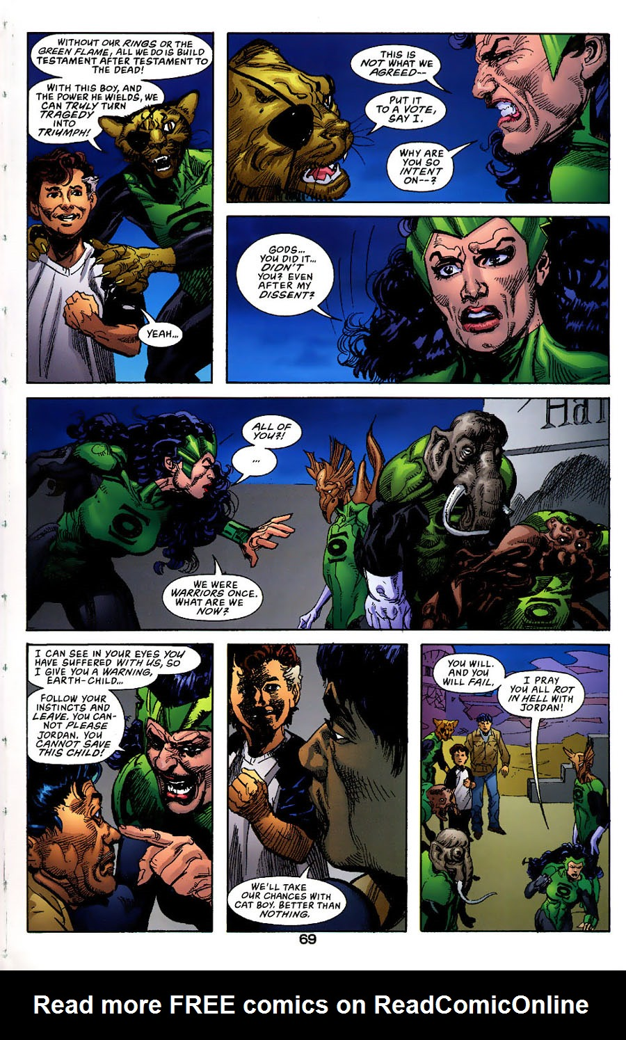 Read online Green Lantern: Legacy: The Last Will and Testament of Hal Jordan comic -  Issue # TPB - 75