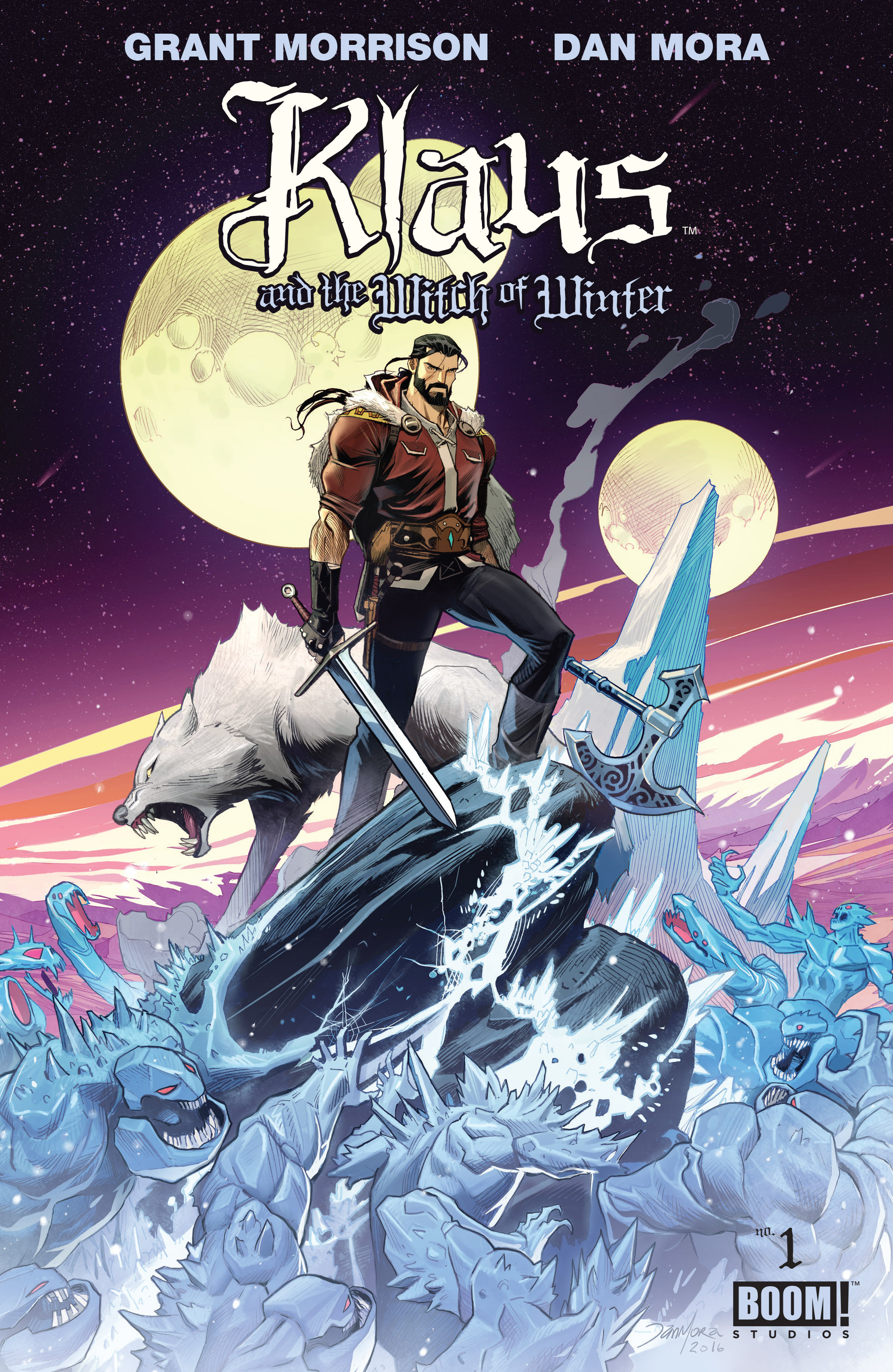 Klaus and the Witch of Winter issue Full - Page 1