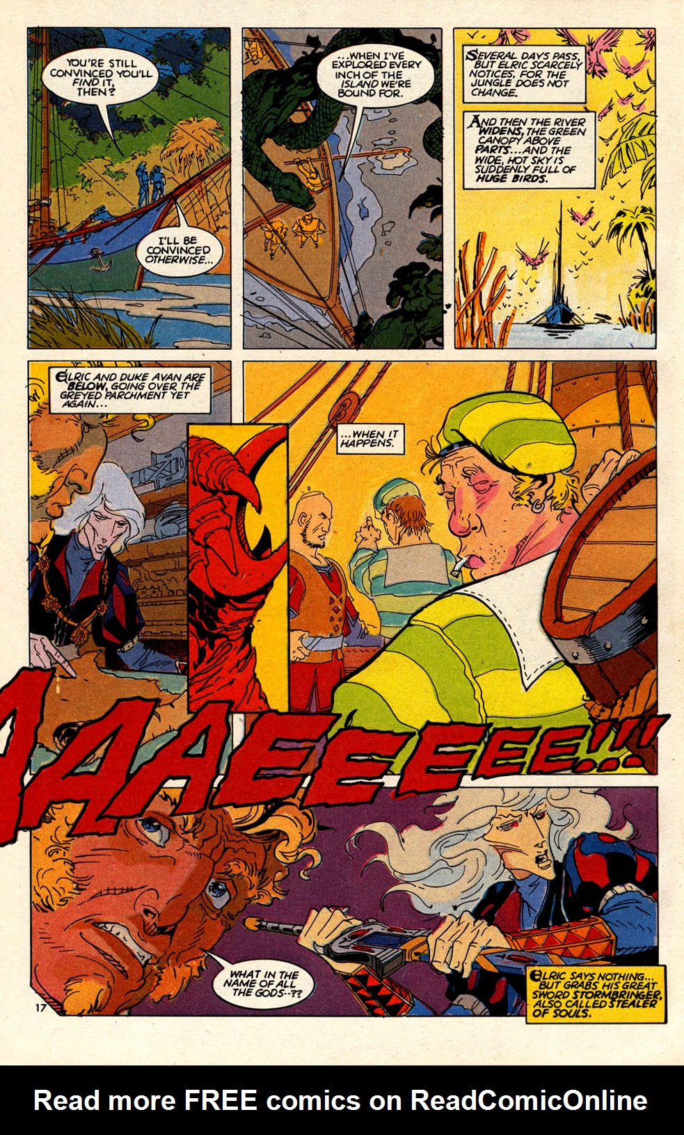 Read online Elric: Sailor on the Seas of Fate comic -  Issue #6 - 20
