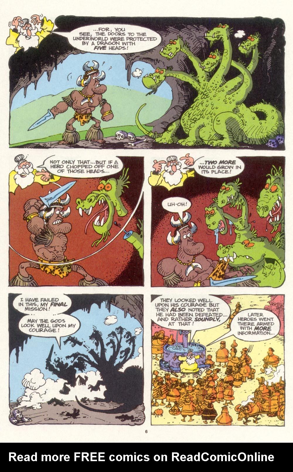 Read online Sergio Aragonés Groo the Wanderer comic -  Issue #99 - 7