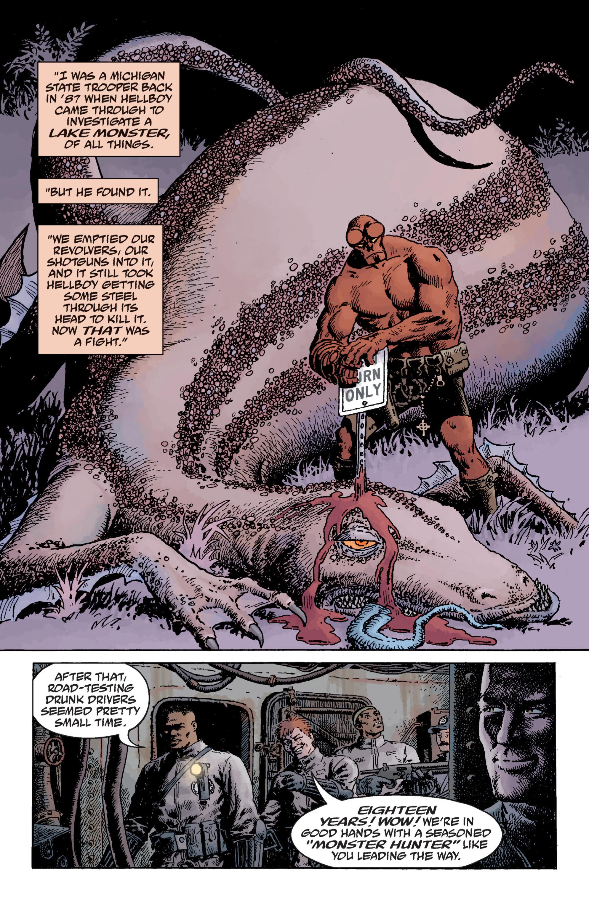 Read online B.P.R.D. (2003) comic -  Issue # TPB 12 - 63