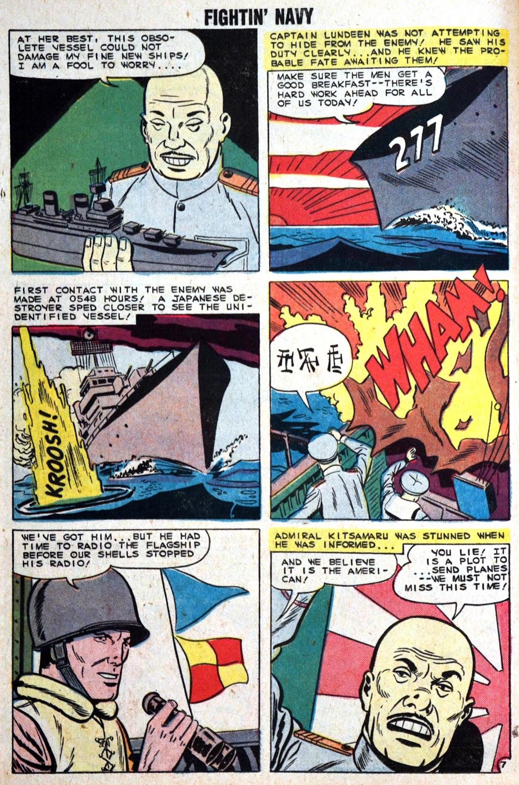 Read online Fightin' Navy comic -  Issue #89 - 26