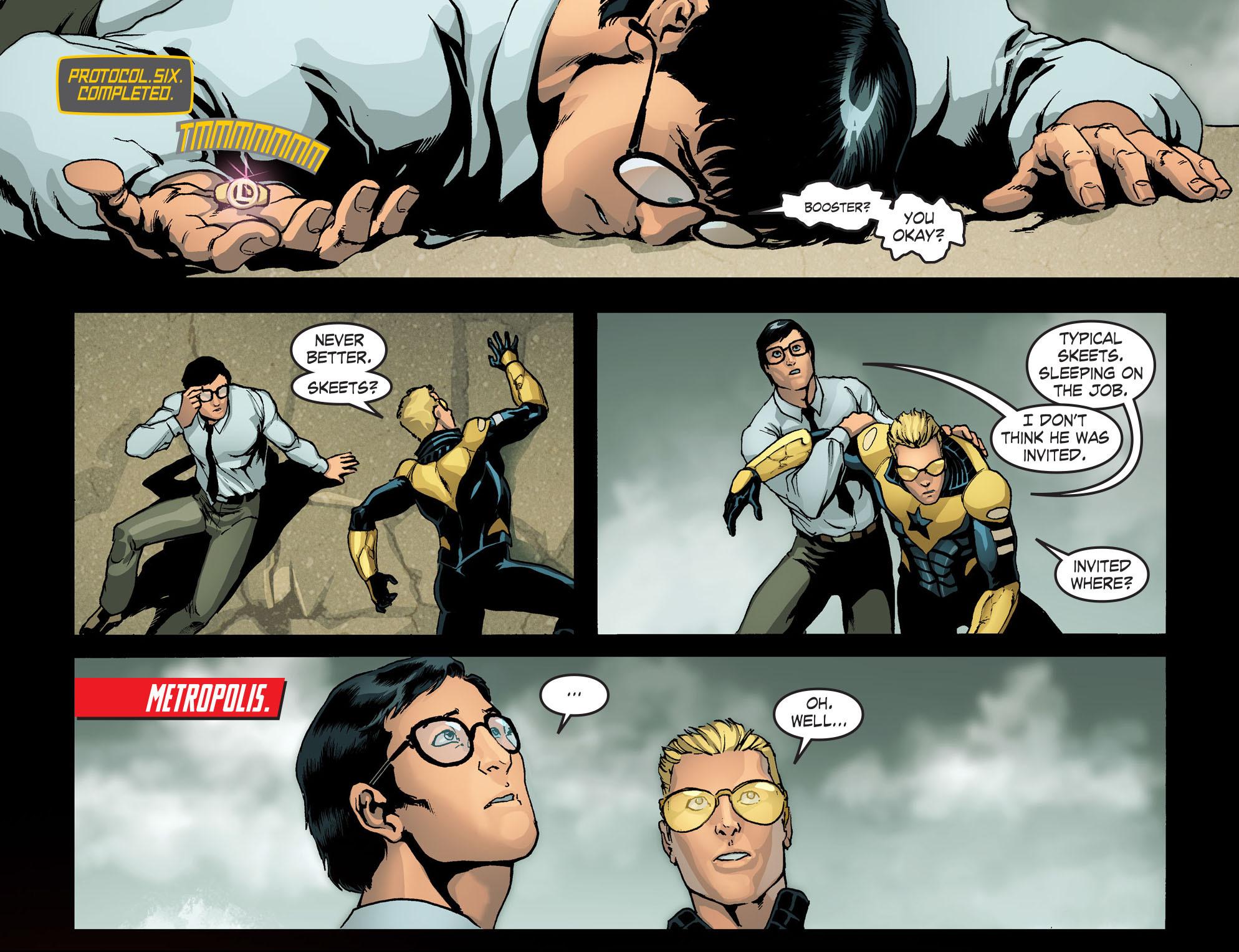 Read online Smallville: Season 11 comic -  Issue #42 - 21