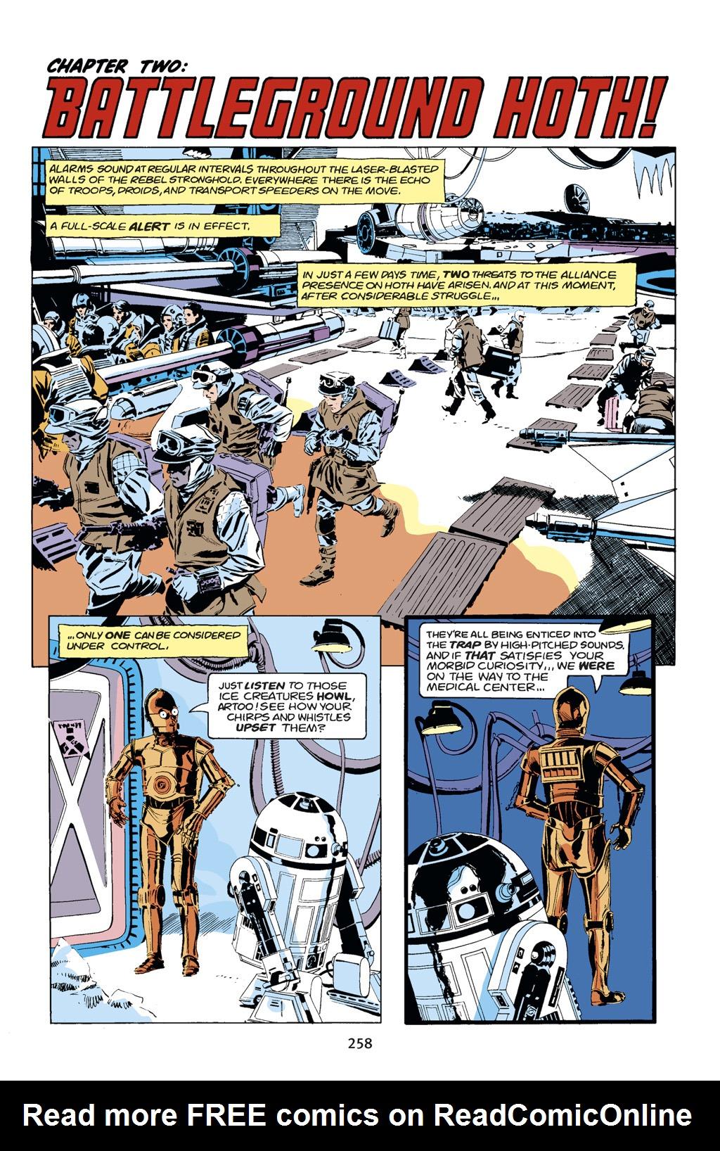 Read online Star Wars Omnibus comic -  Issue # Vol. 14 - 256
