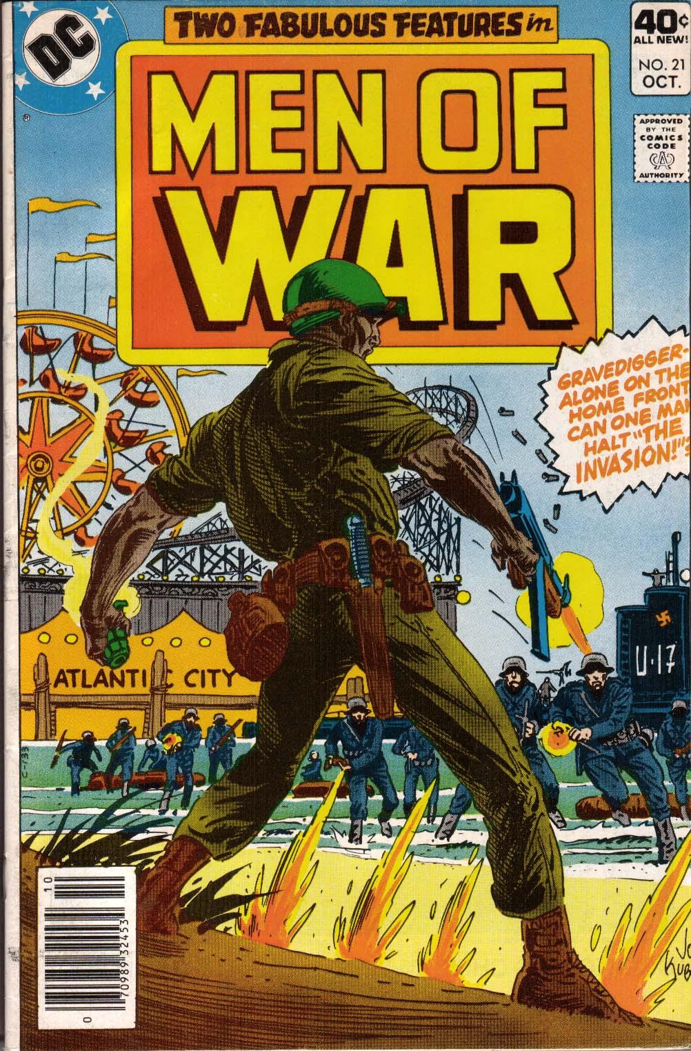 Men of War 21 Page 1