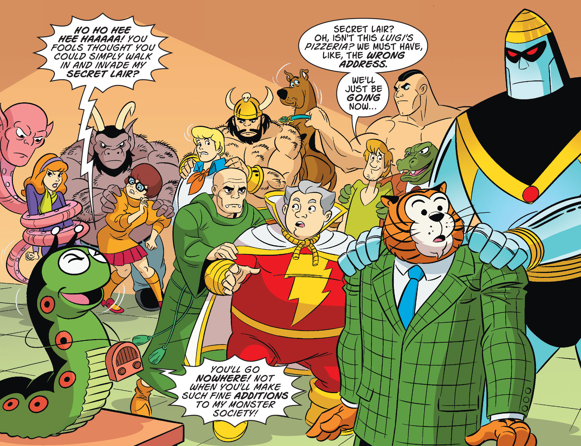 Read online Scooby-Doo! Team-Up comic -  Issue #32 - 4