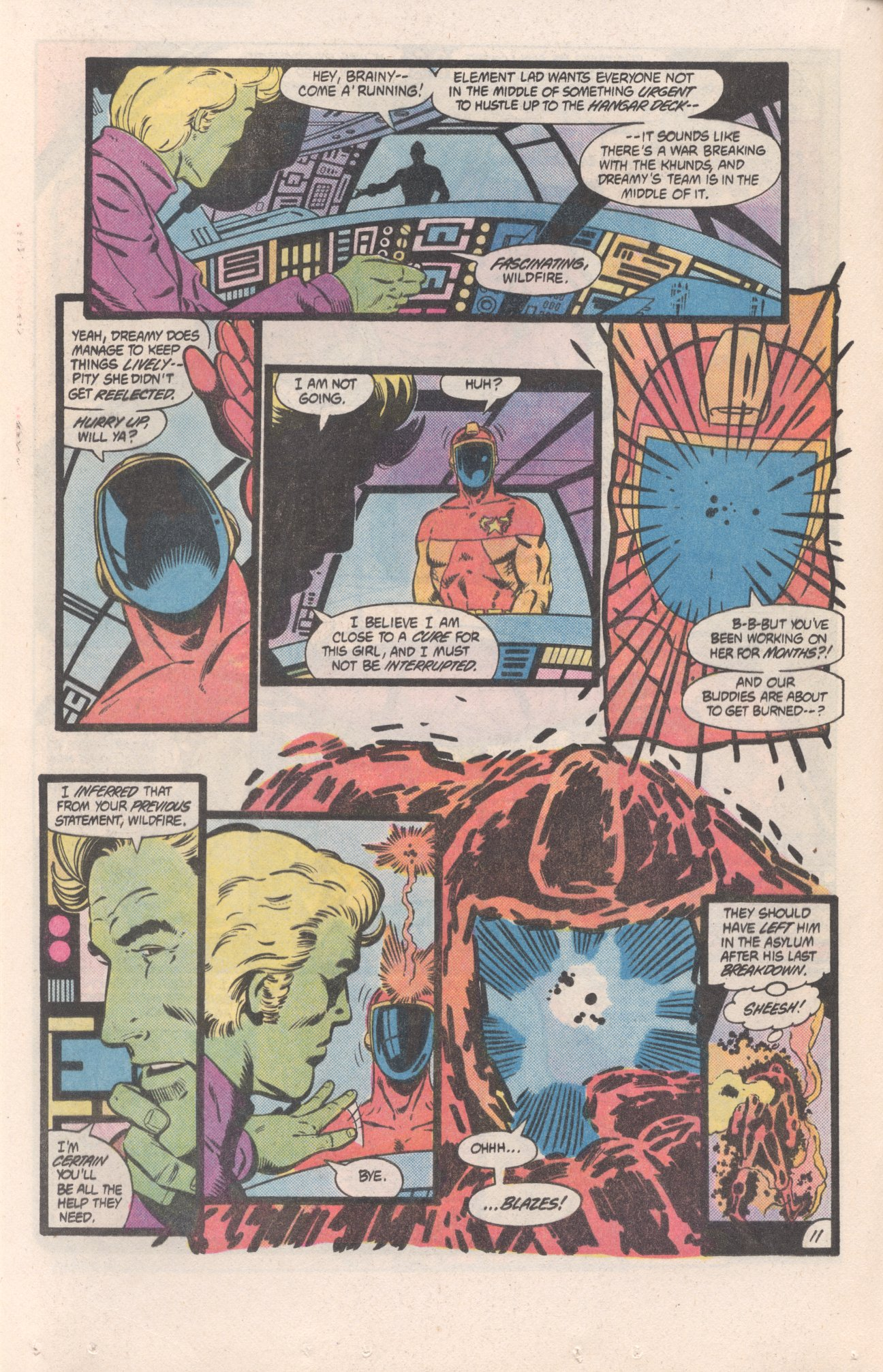 Legion of Super-Heroes (1980) 310 Page 11