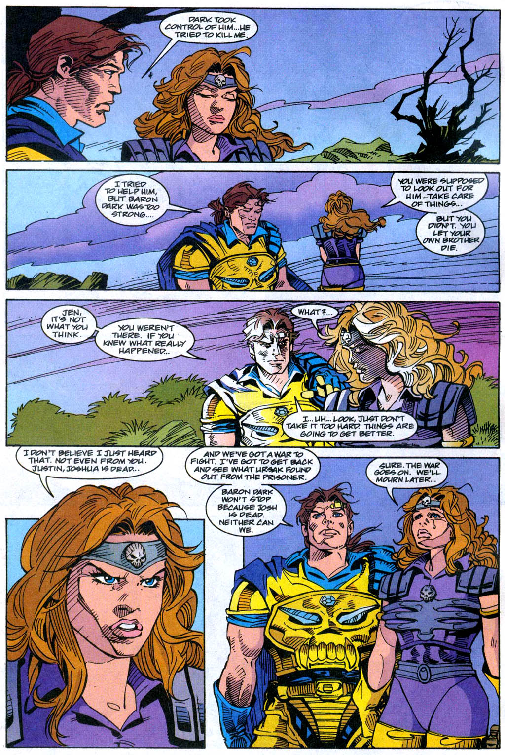 Skeleton Warriors Issue #4 #4 - English 12
