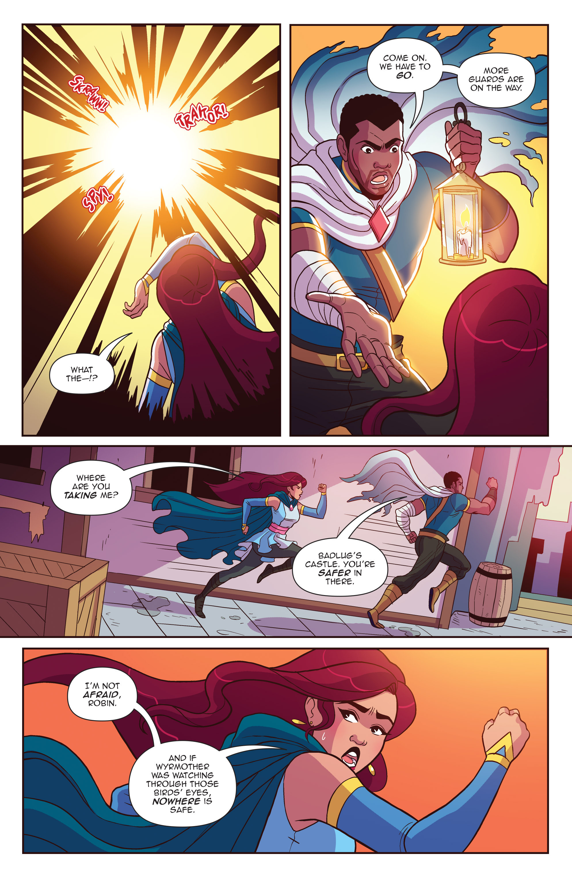 Read online Another Castle comic -  Issue #4 - 4