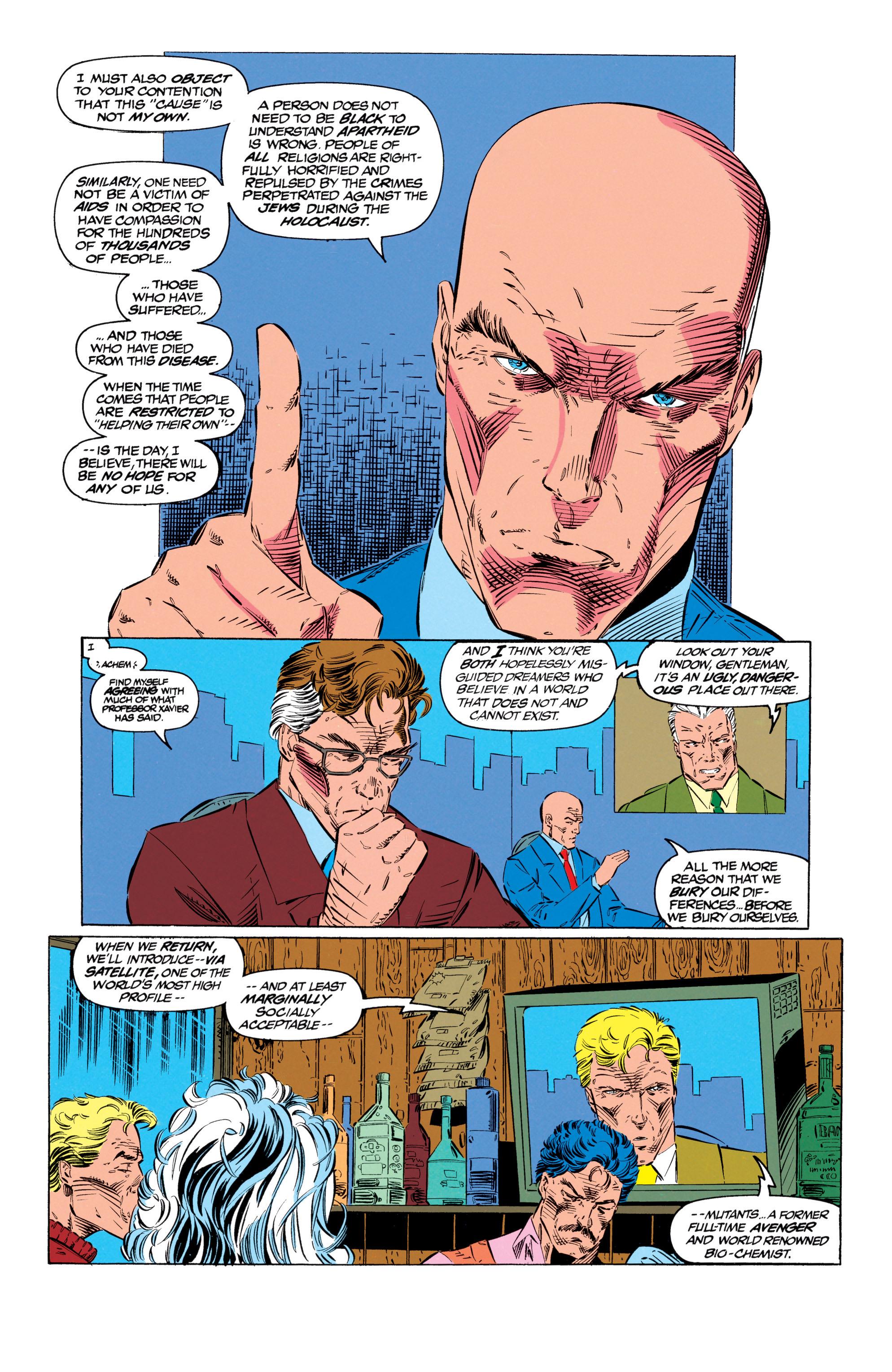 Read online Uncanny X-Men (1963) comic -  Issue #299 - 14