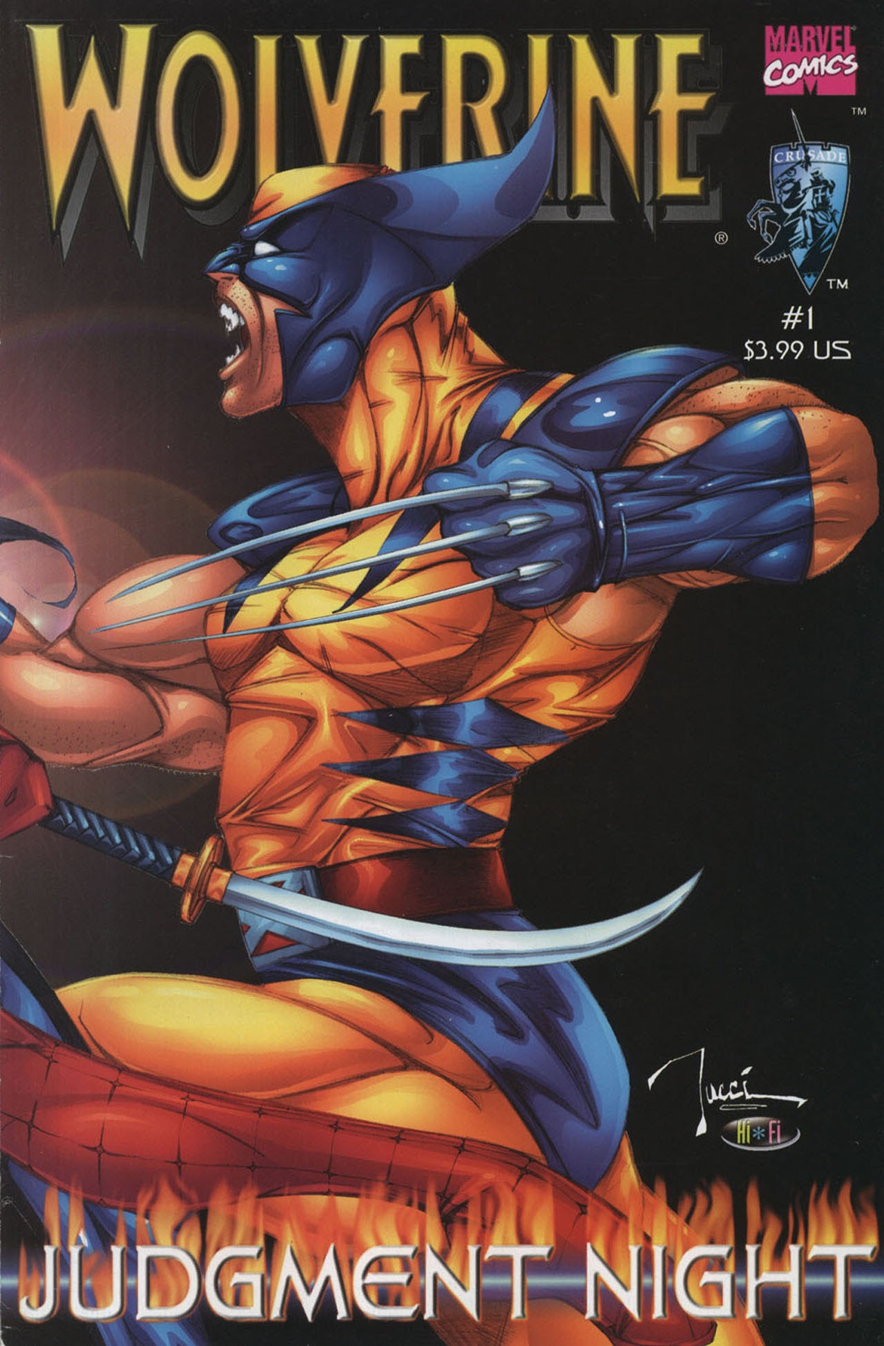 Wolverine: Judgment Night issue Full - Page 1