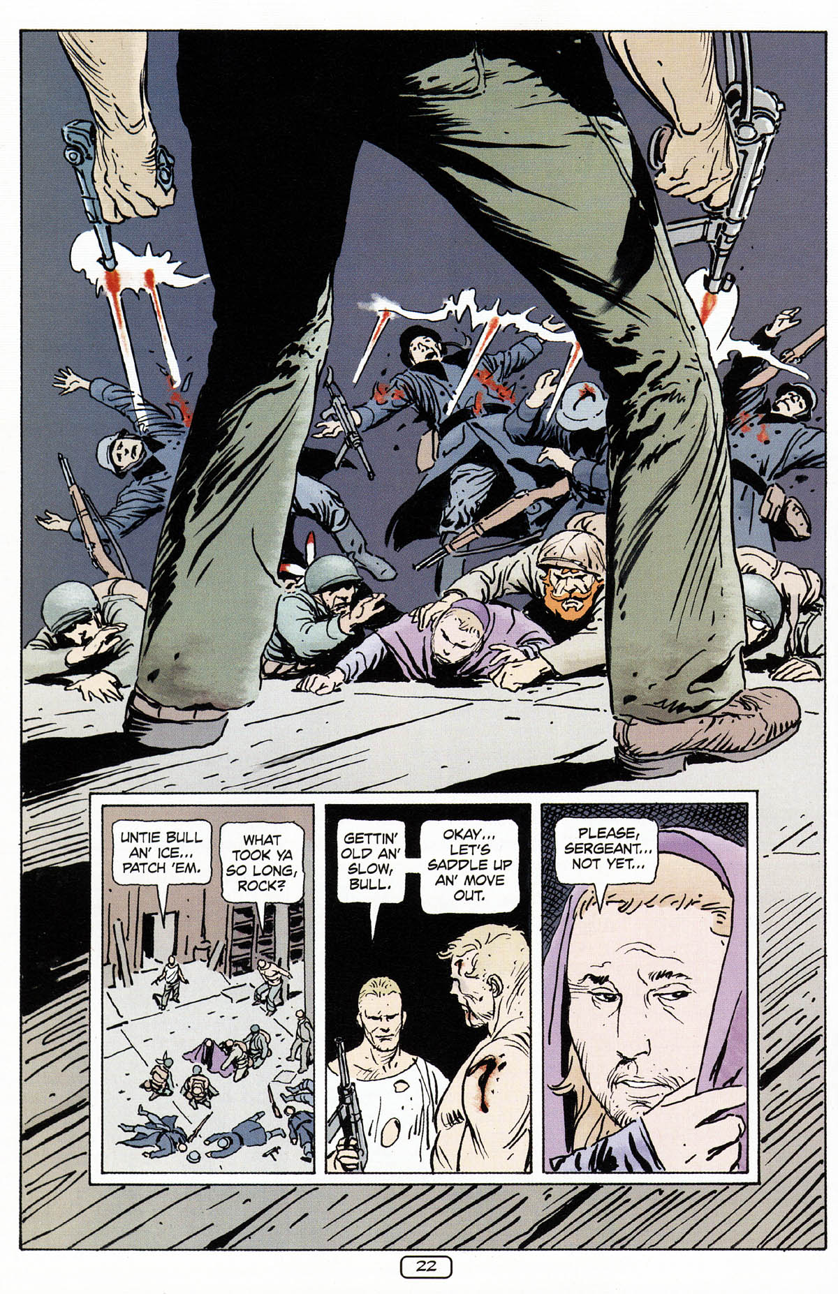 Read online Sgt. Rock: The Prophecy comic -  Issue #3 - 23