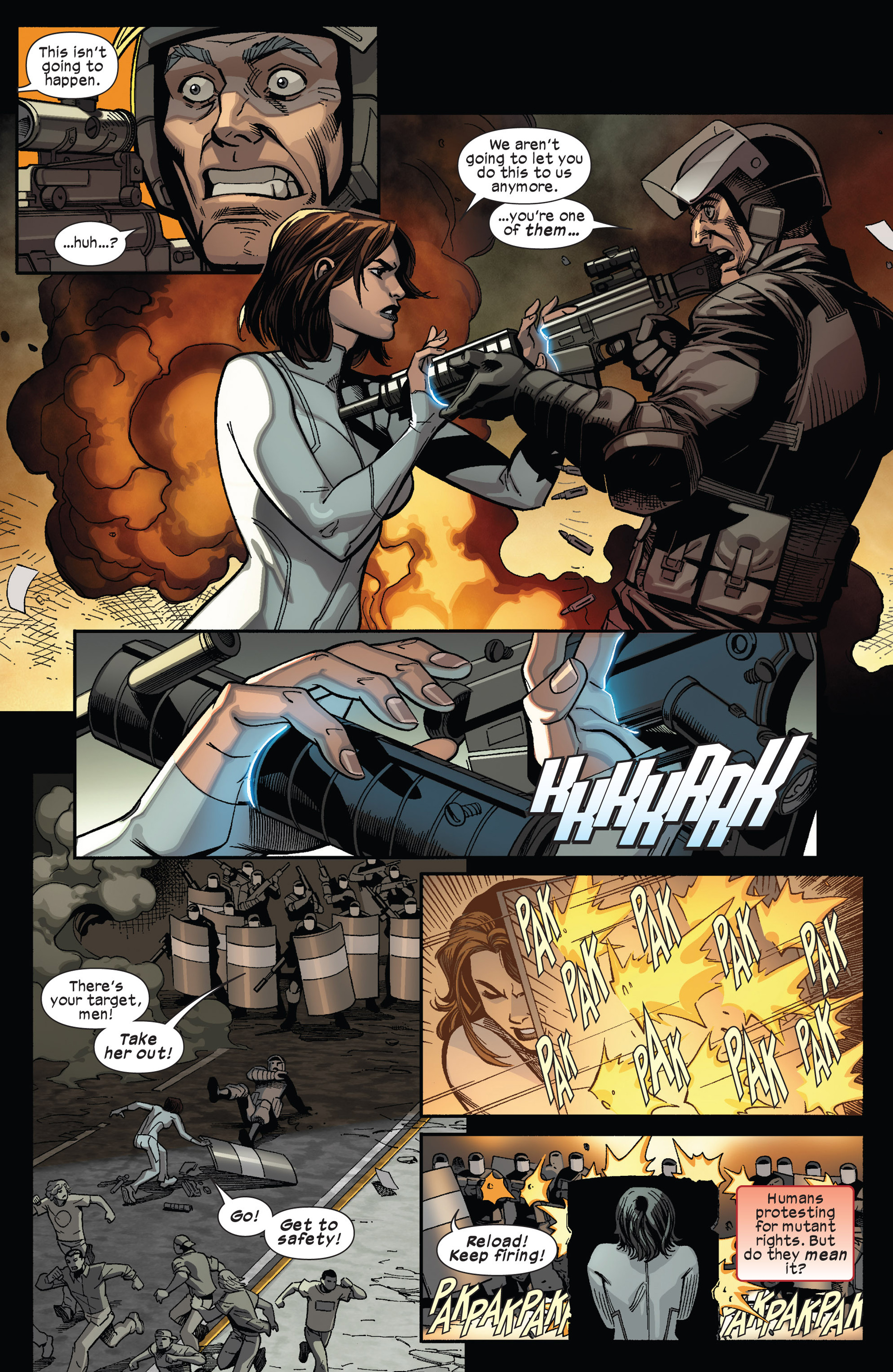 Read online Ultimate Comics X-Men comic -  Issue #13 - 11