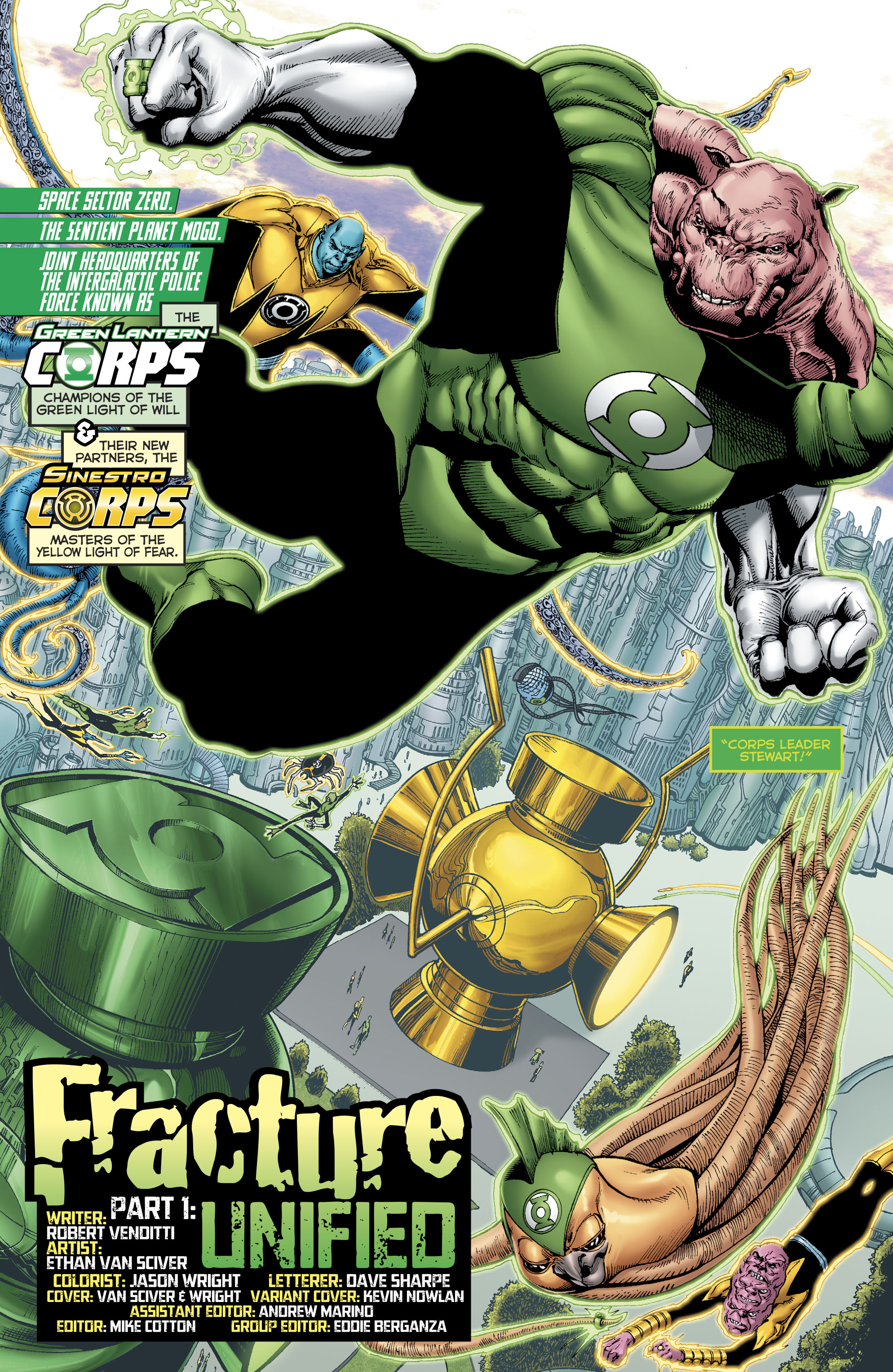 Read online Hal Jordan And The Green Lantern Corps comic -  Issue #22 - 6